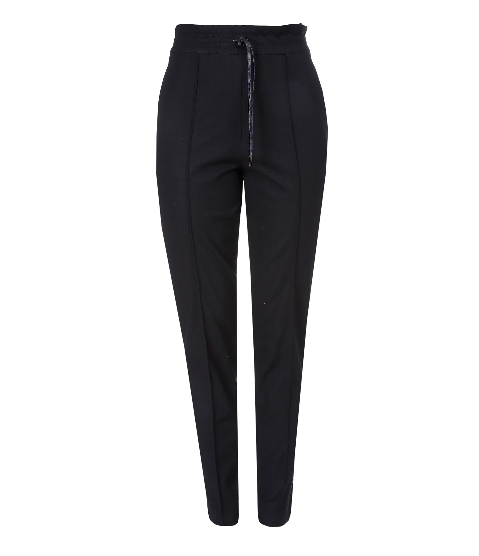 Pantalon Base Tuxedo Coton Noir Blanc