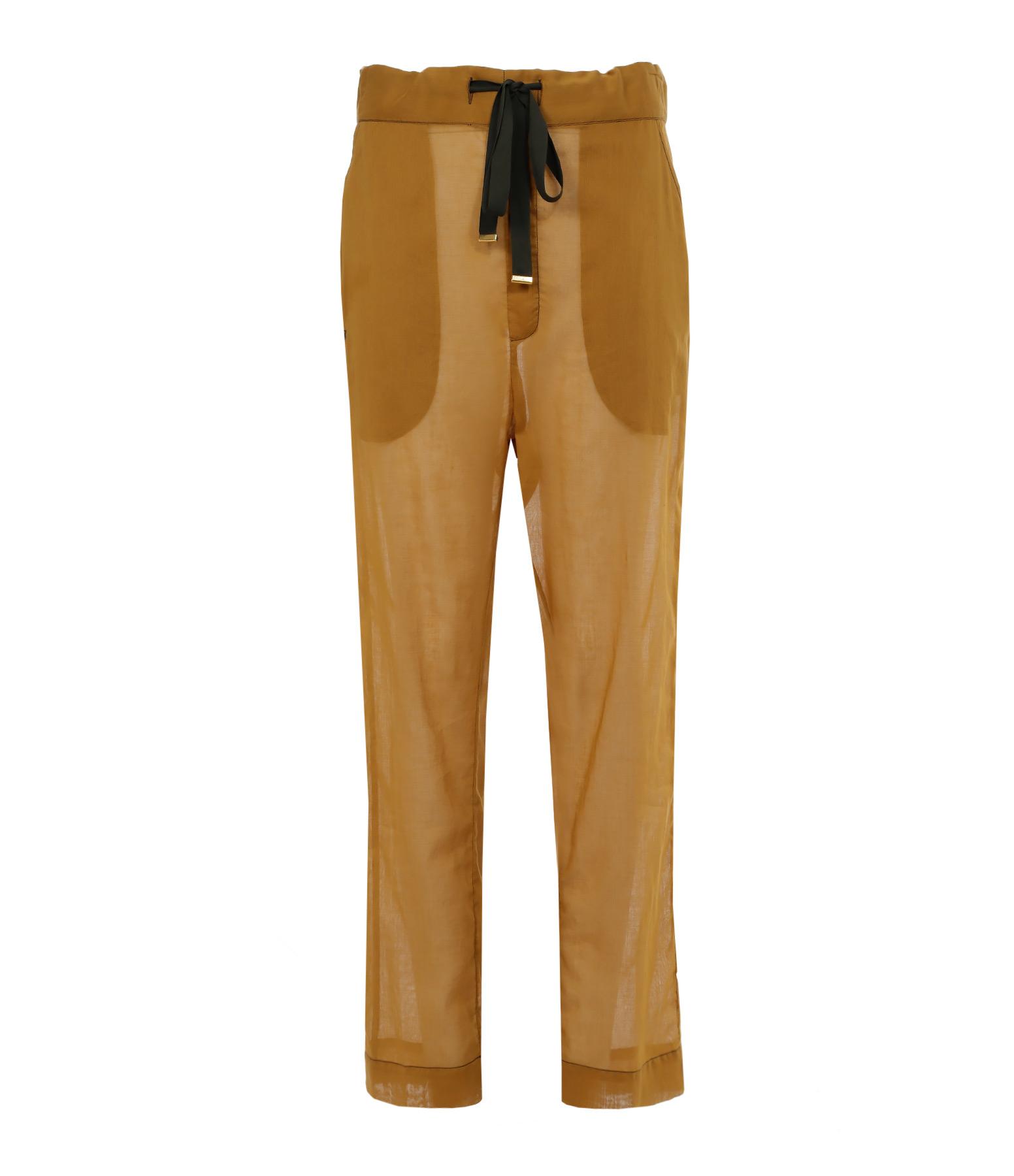 Pantalon Chairman Coton Lemon Grass