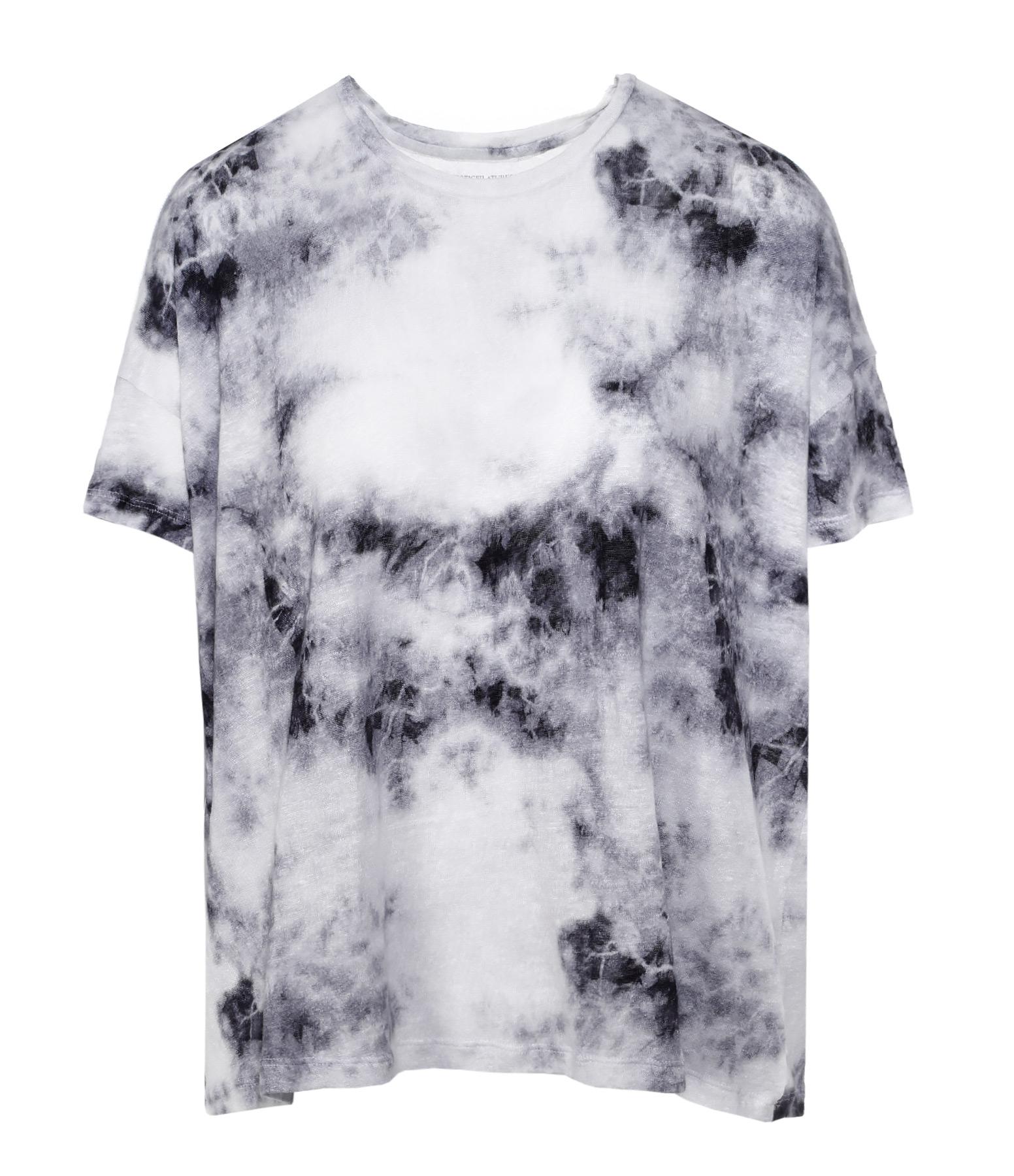 Tee-shirt Rond MC Lin Tie & Dye Noir