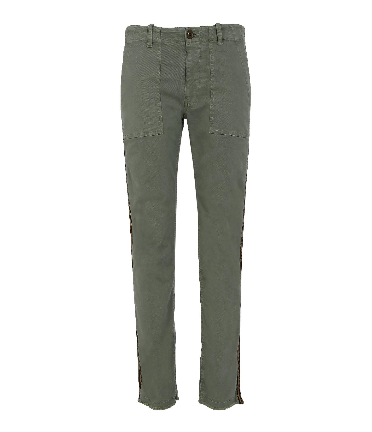 Pantalon Jenna Coton Camouflage
