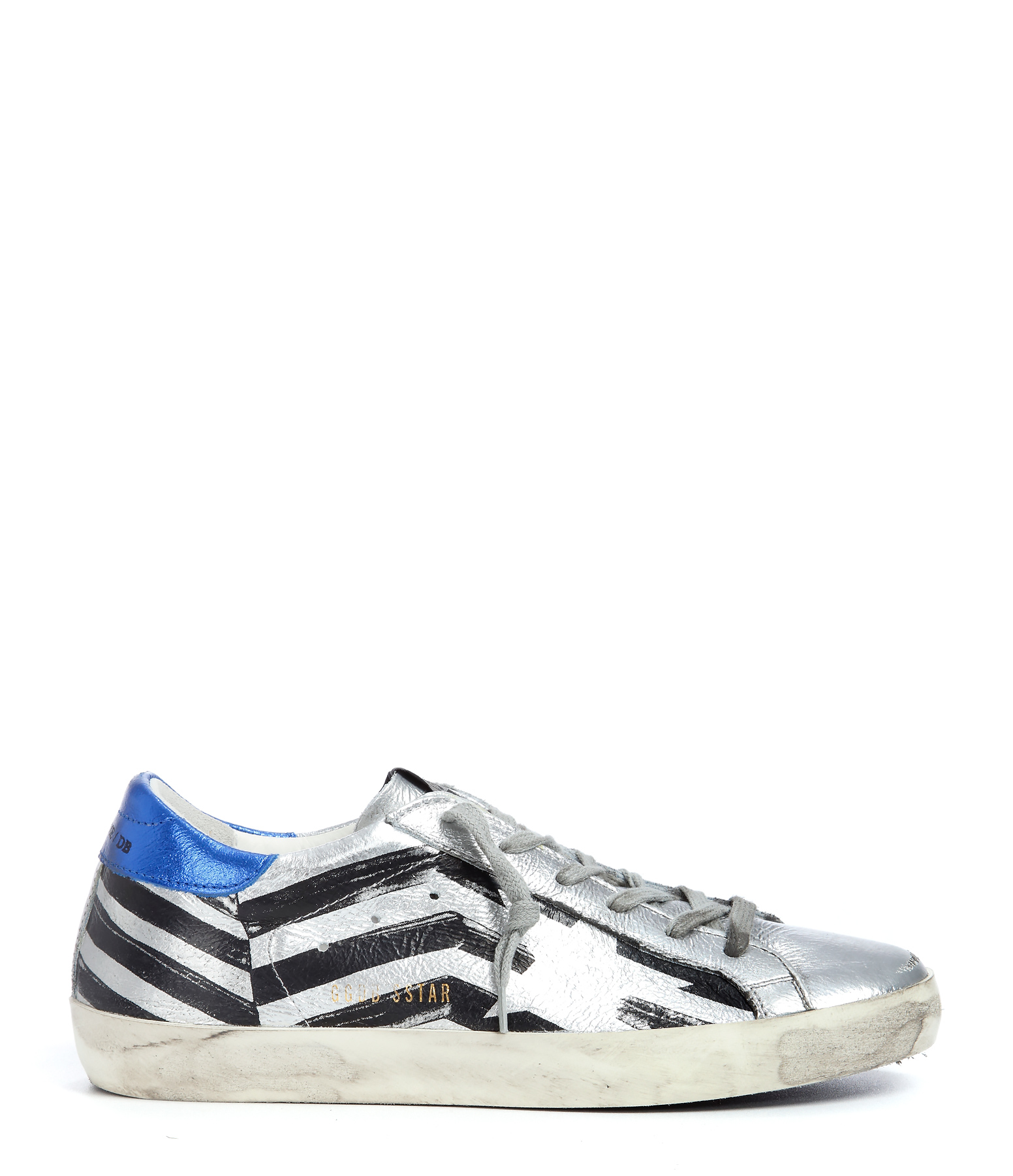 Sneakers Superstar Silver Flag