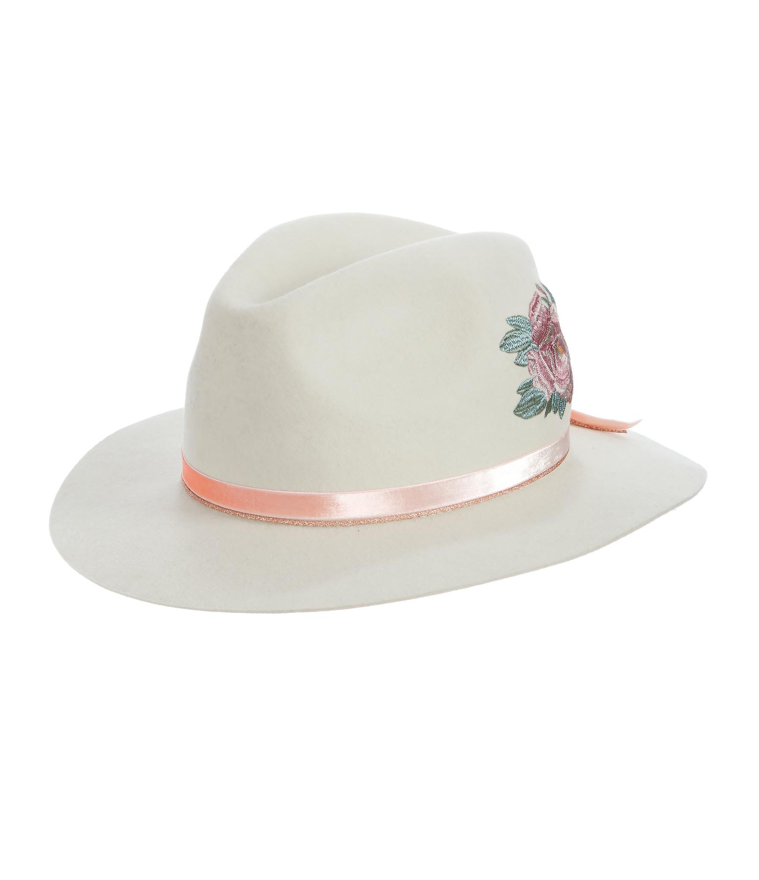 Chapeau California Lapin Blanc