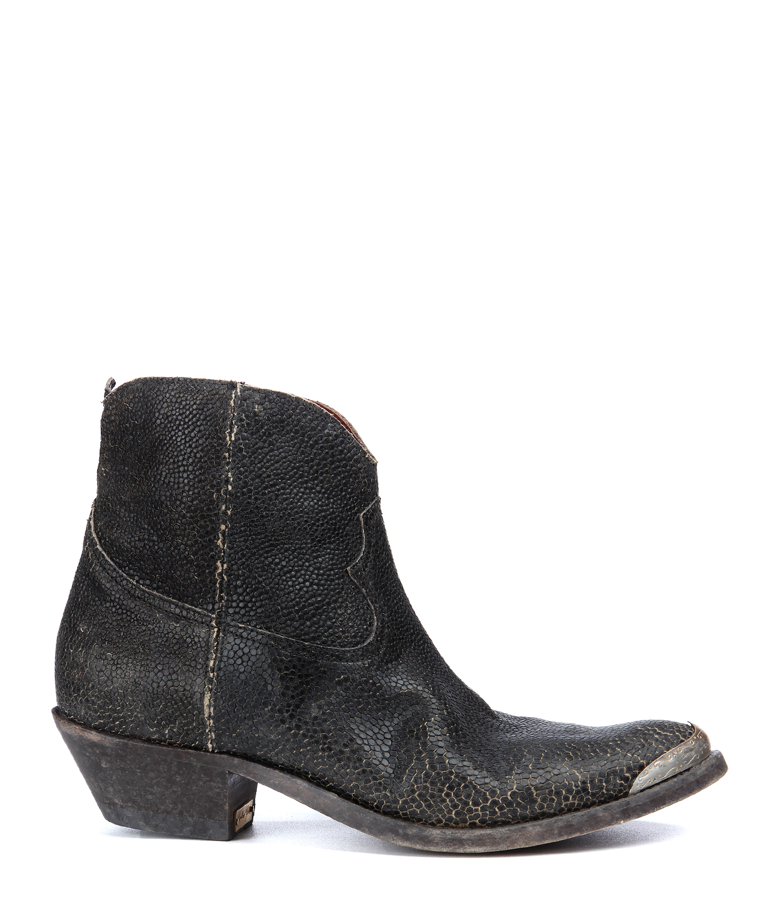 Boots Young Cuir Noir
