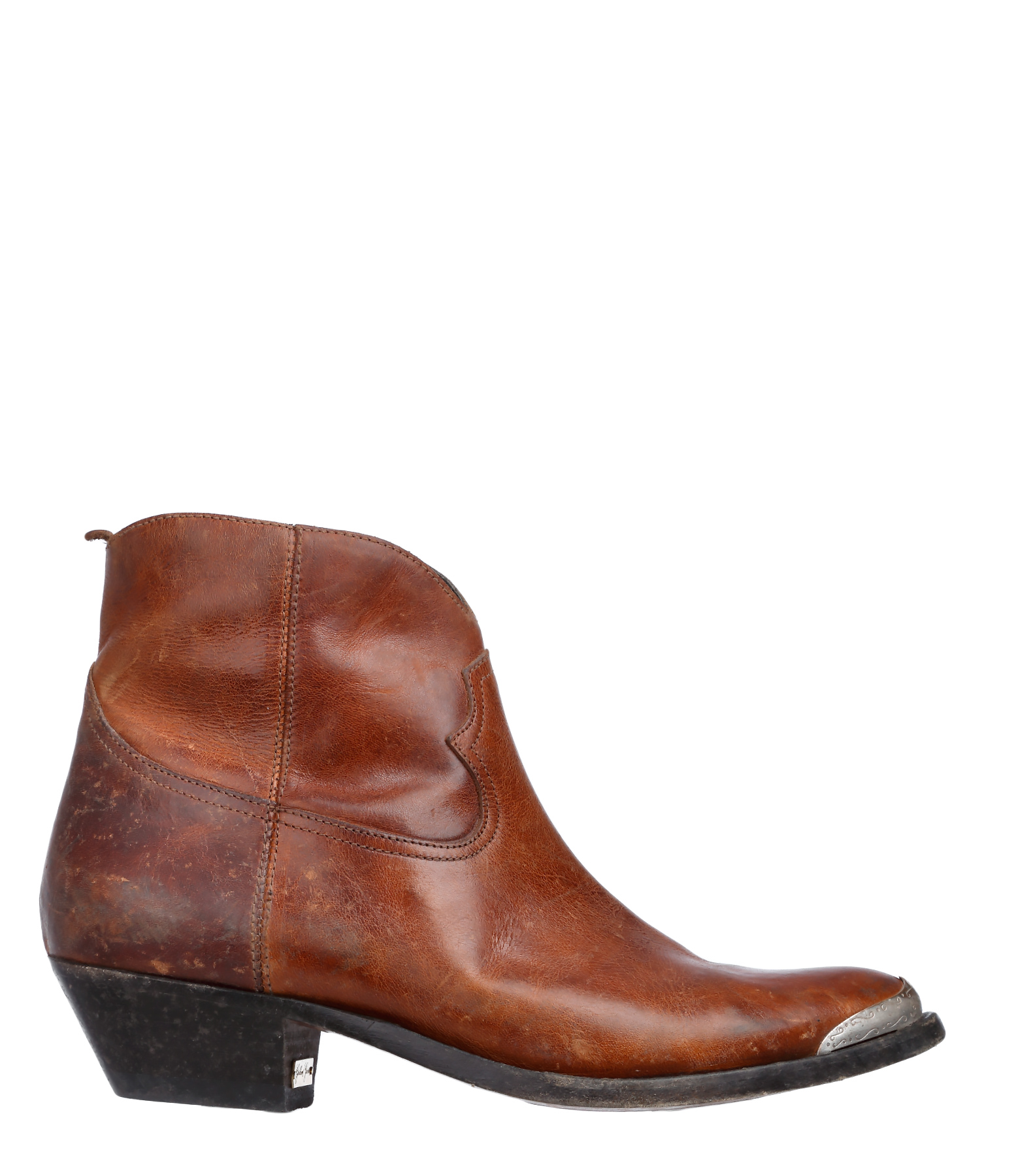 Boots Young Cuir Brick