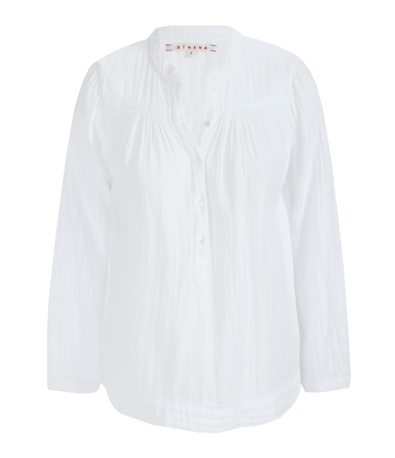 Blouse Chelsea Gauze Alyx Coton Blanc