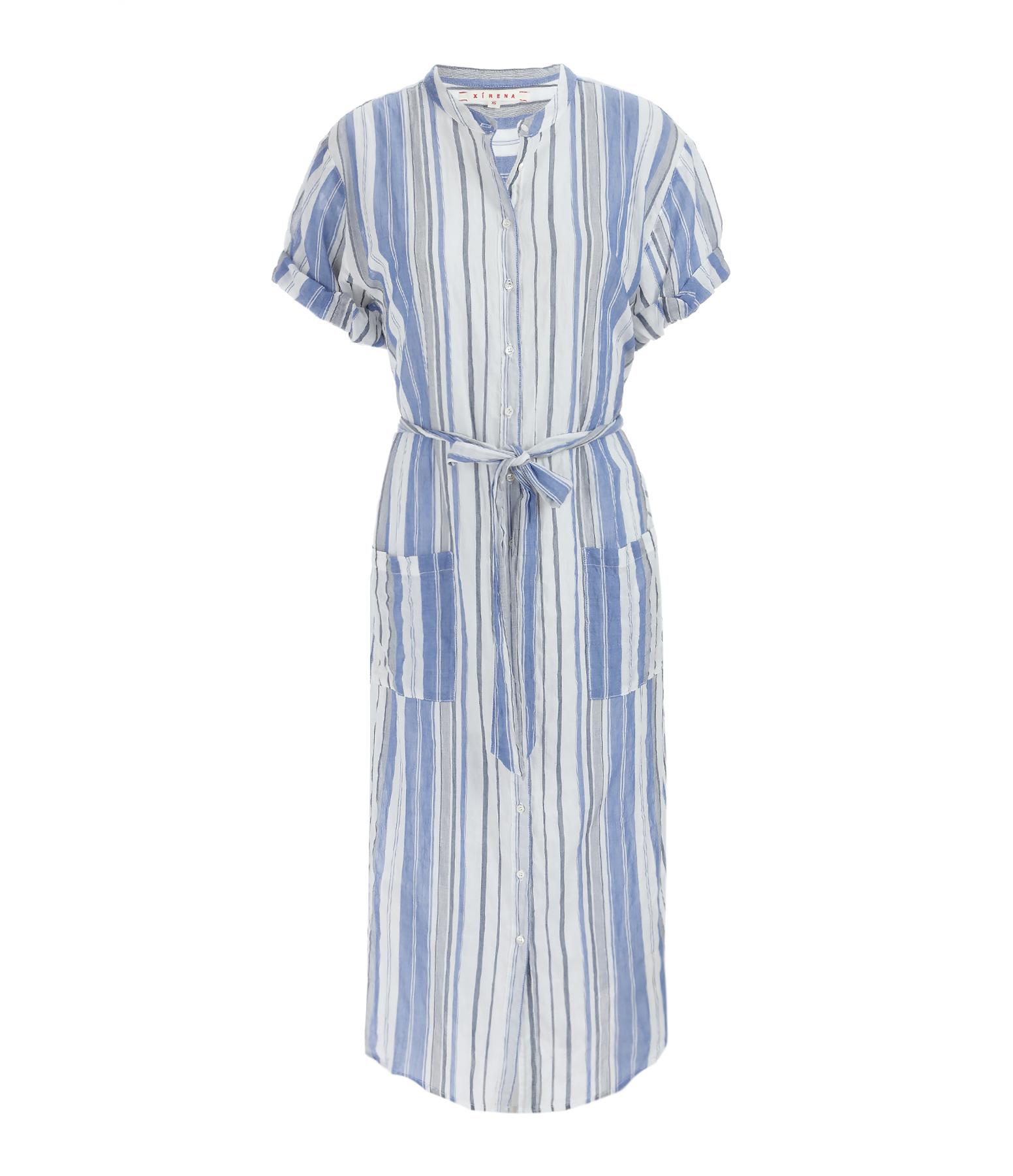 Robe Chemise Mixed Striped Alexa Coton Sotto