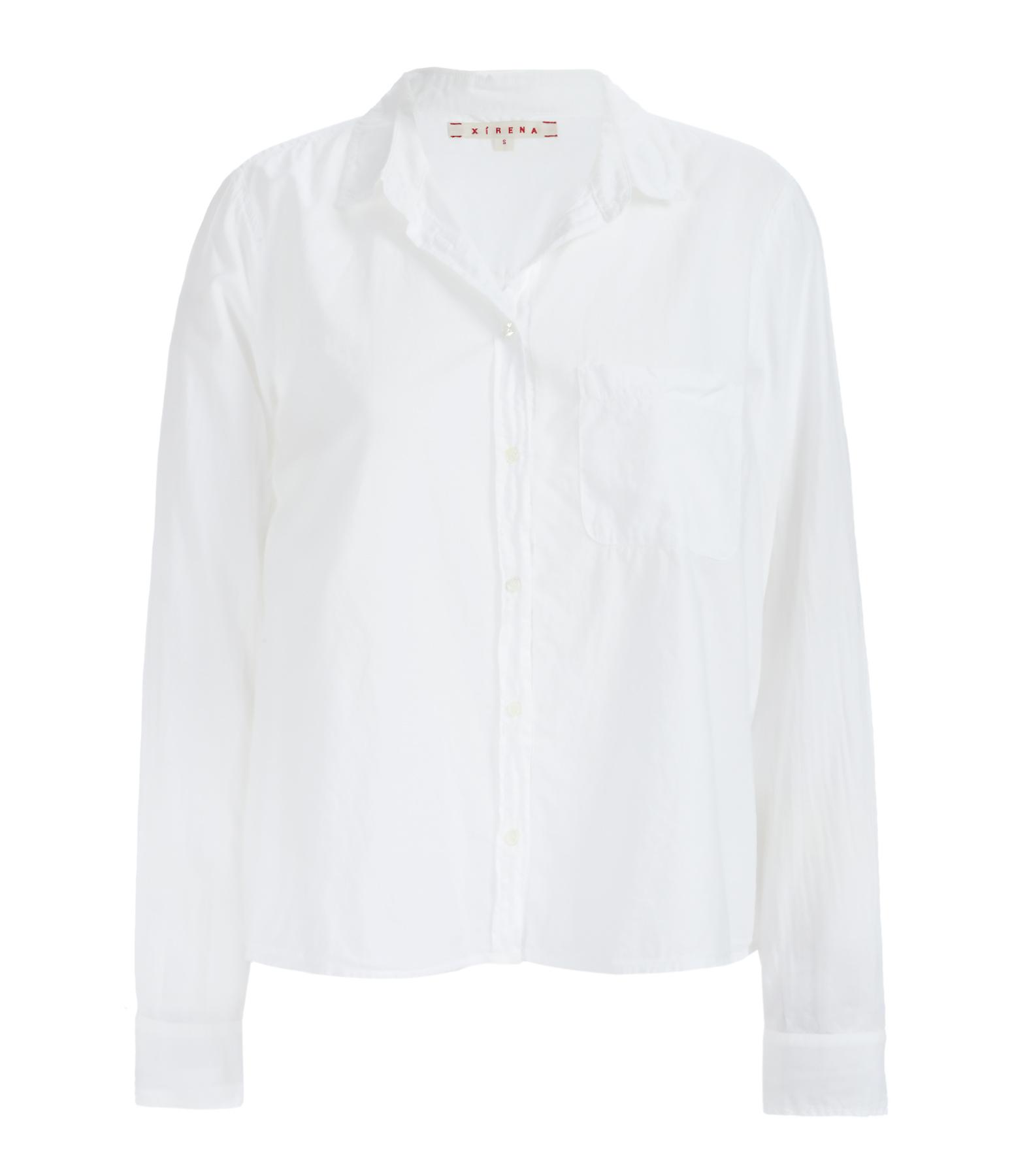 Chemise Cotton Poplin Easton Coton Blanc