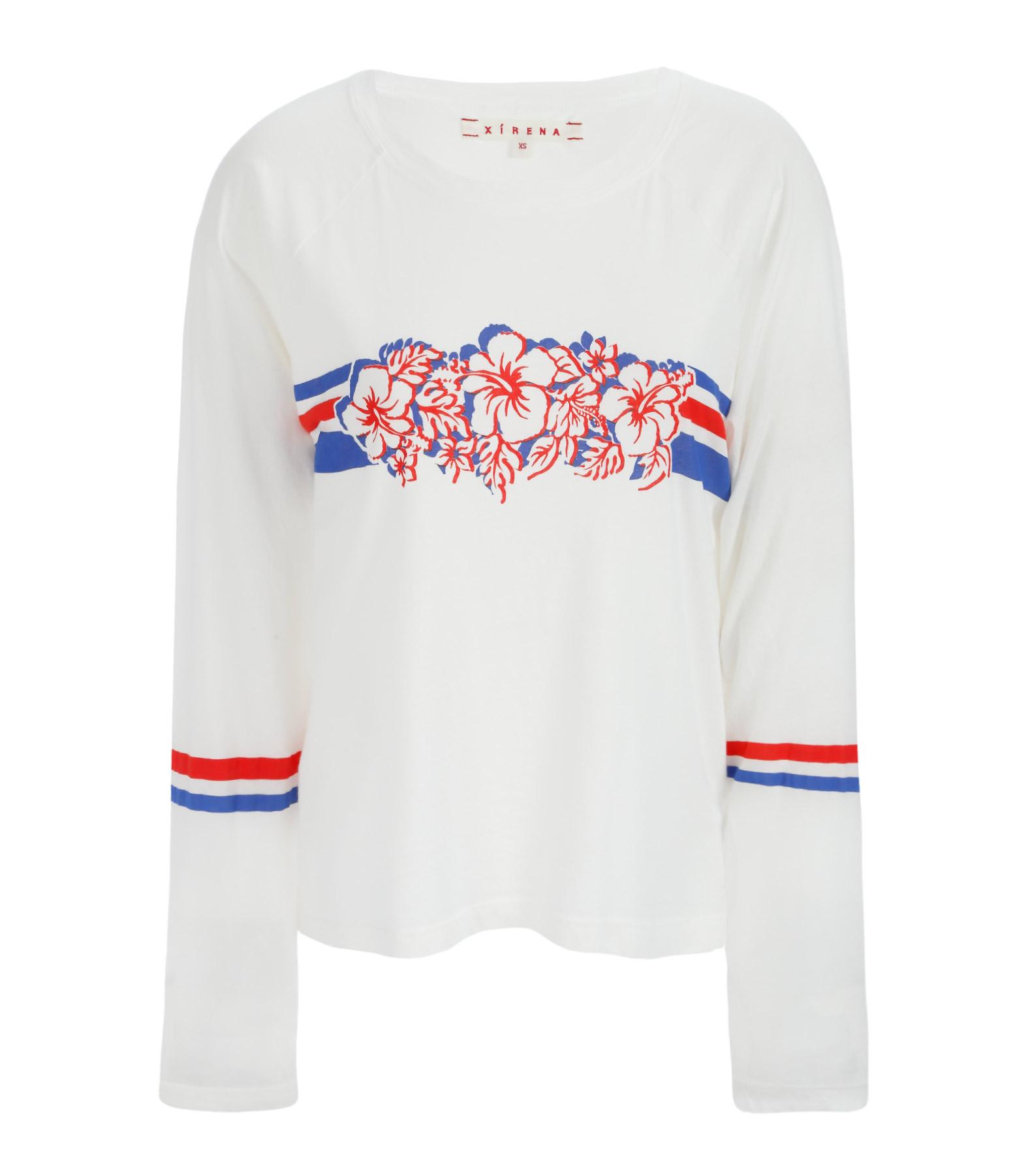 Tee-shirt Jersey Regan Coton Blanc