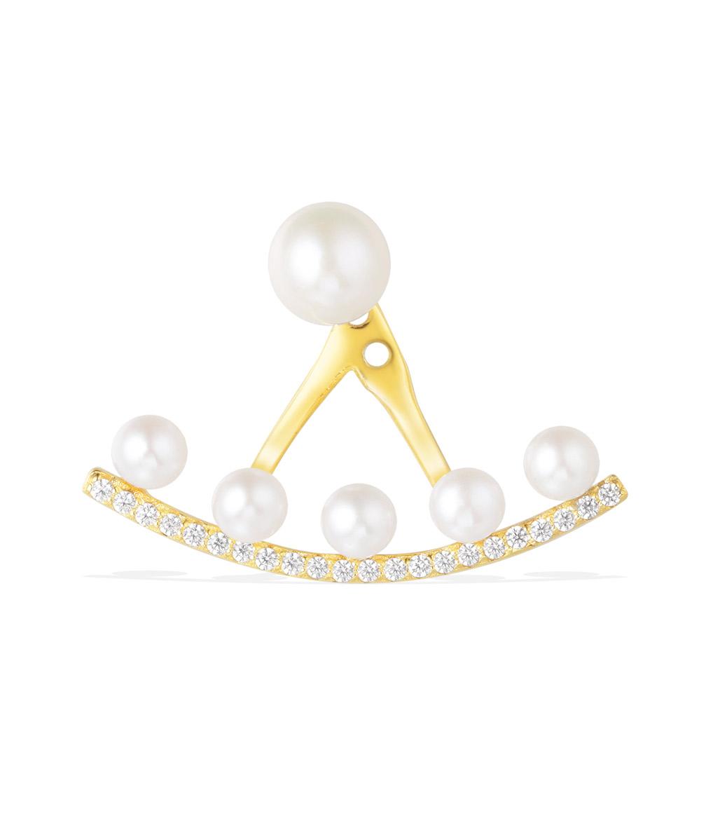 Boucle d'oreille Perles Amour (vendue à l'unité)