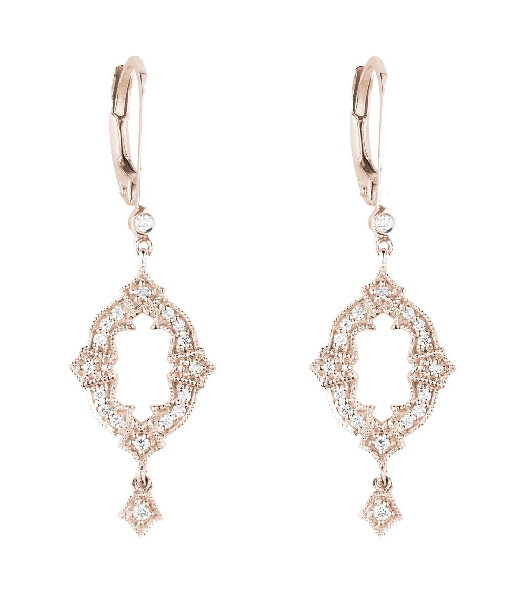 Boucles d'oreilles Ava Diamants