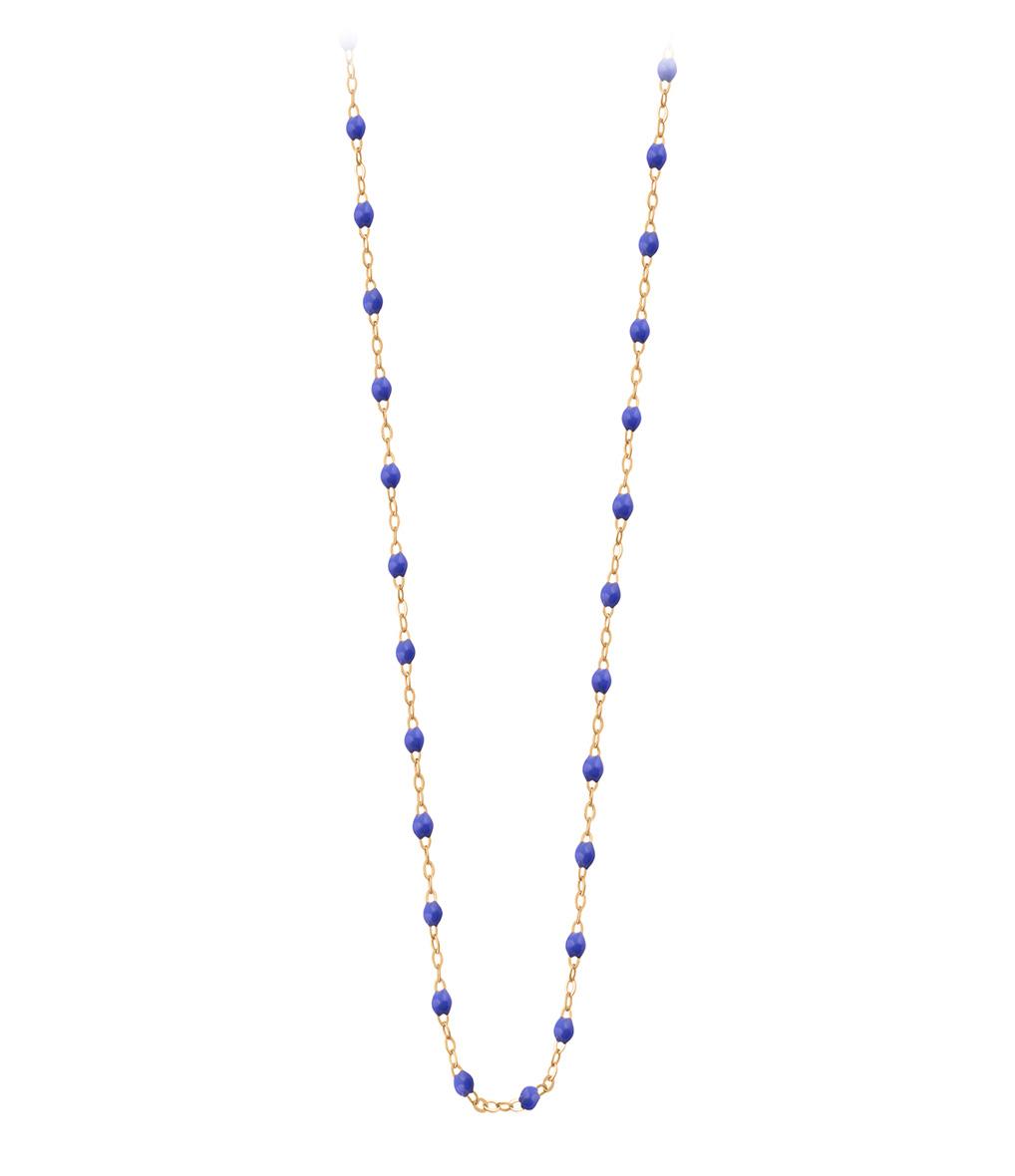 Collier Perles Résine 60cm