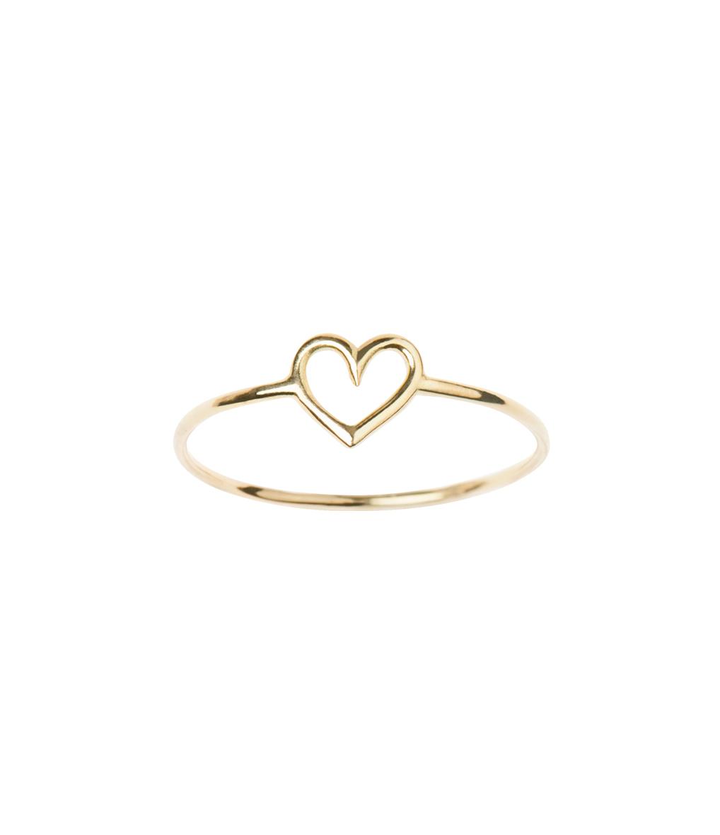 Bague Mini Charms Love Gold