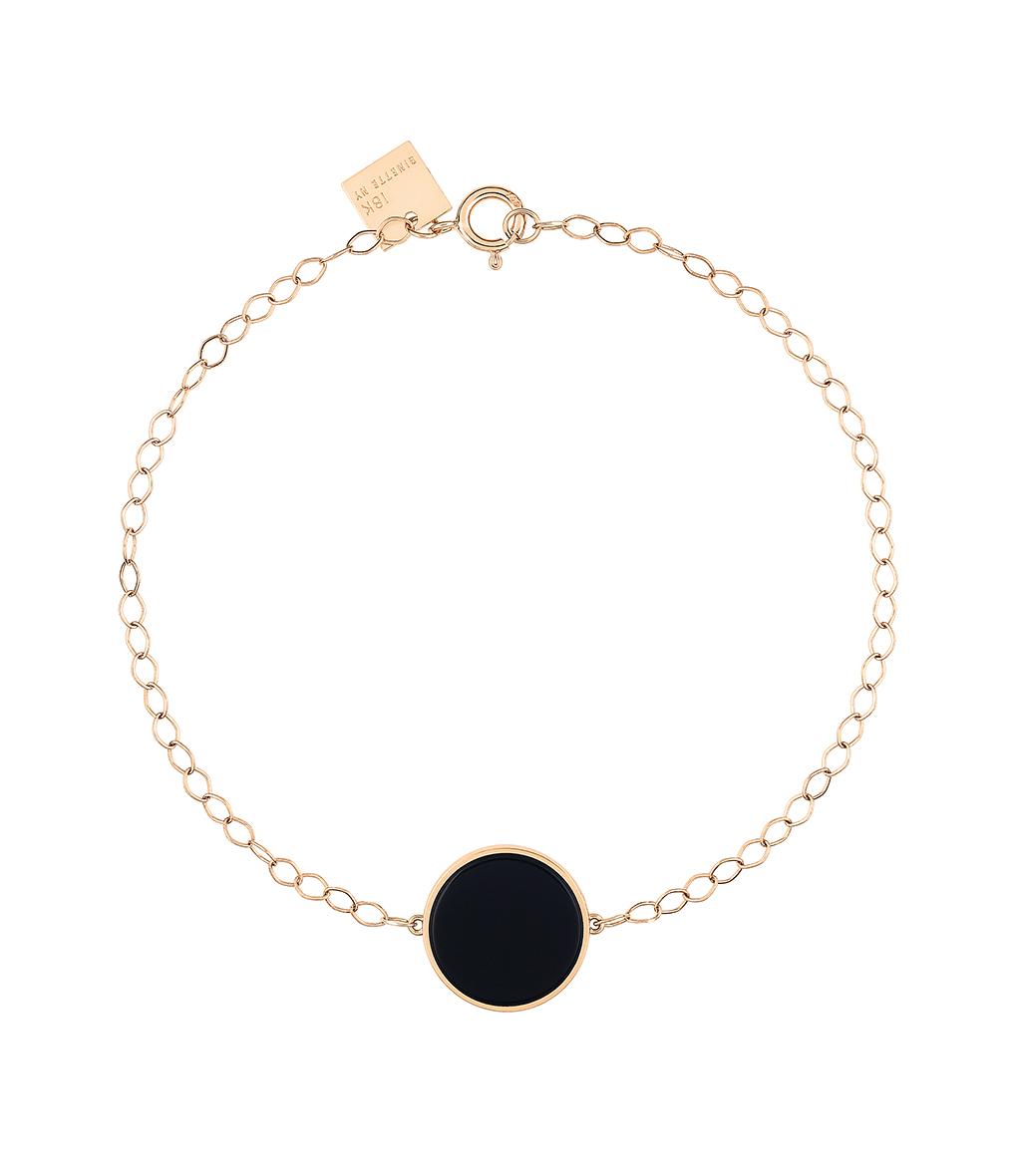 Bracelet Ever Disc Onyx