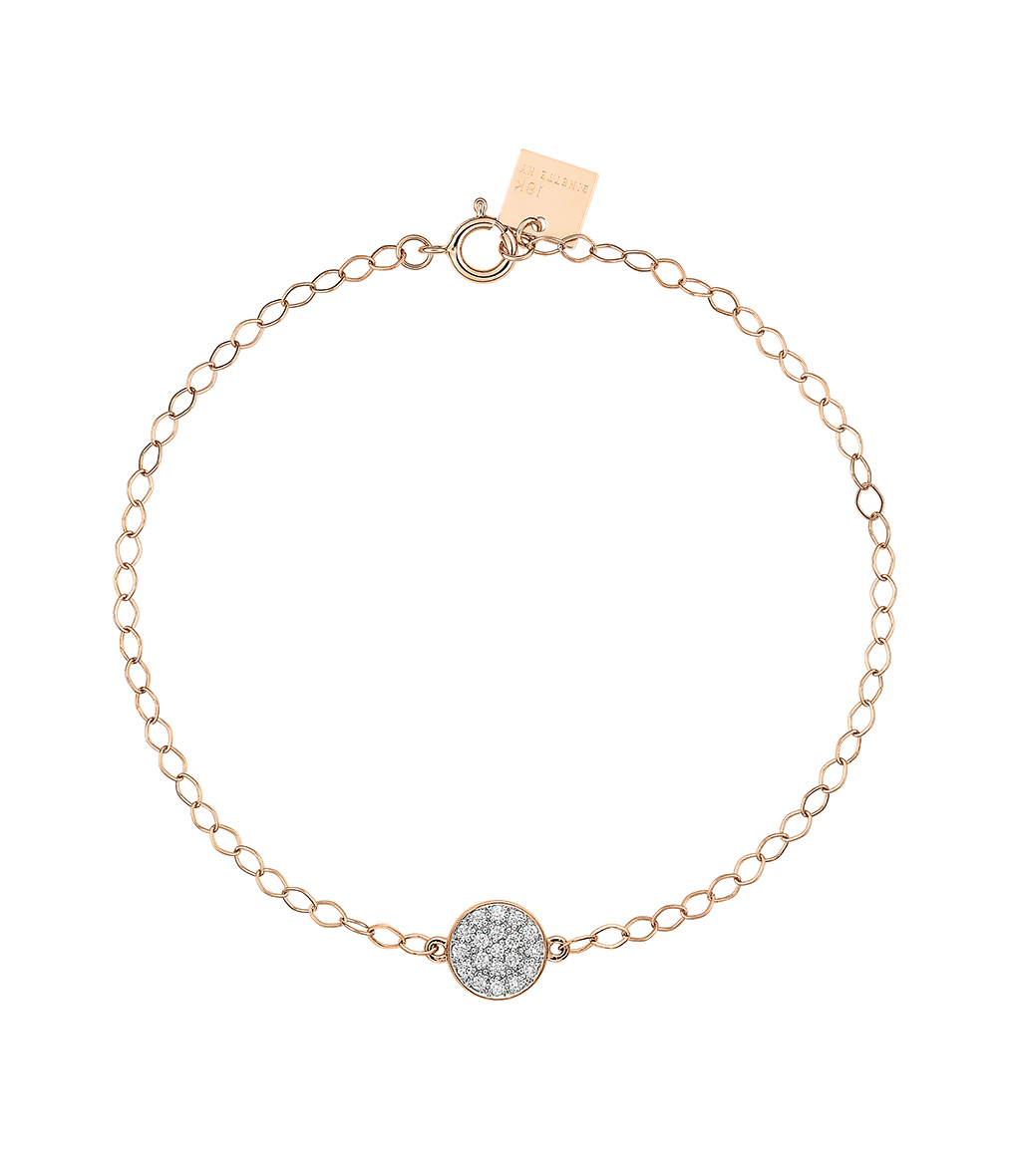 Bracelet Mini Ever Disc Diamants