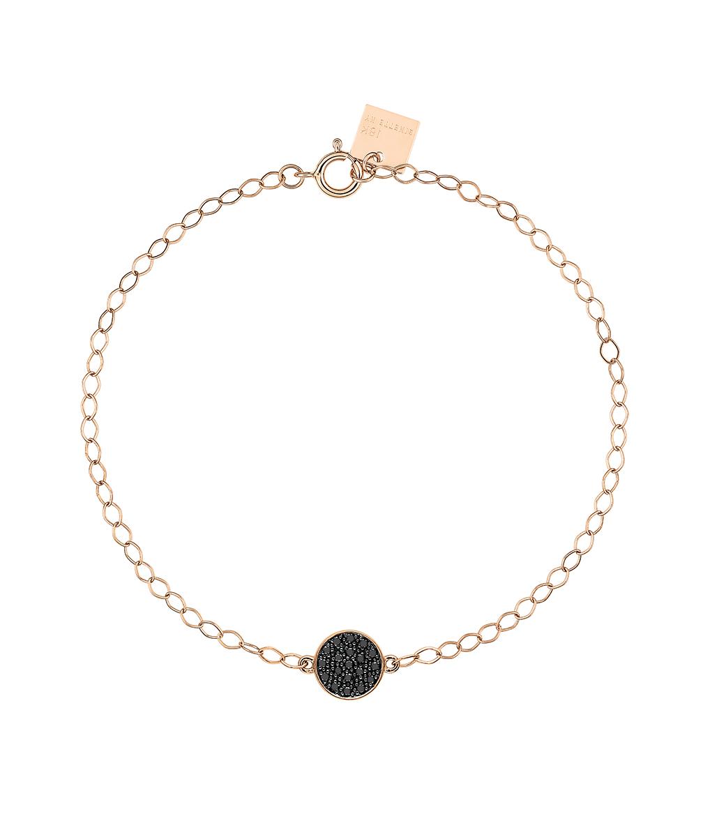 Bracelet Mini Ever Disc Diamants Noir