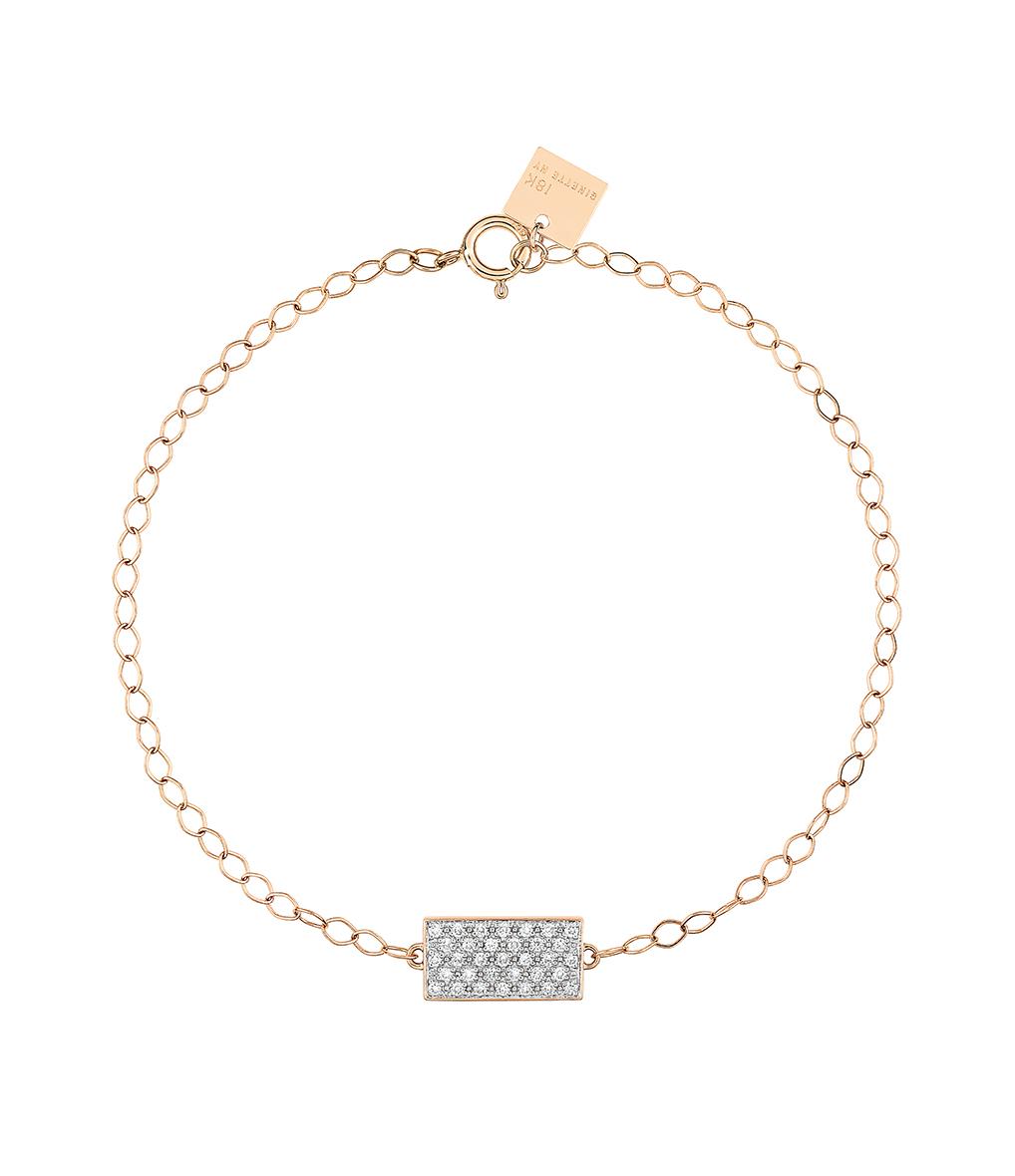 Bracelet Mini Ever Rectangle Diamants