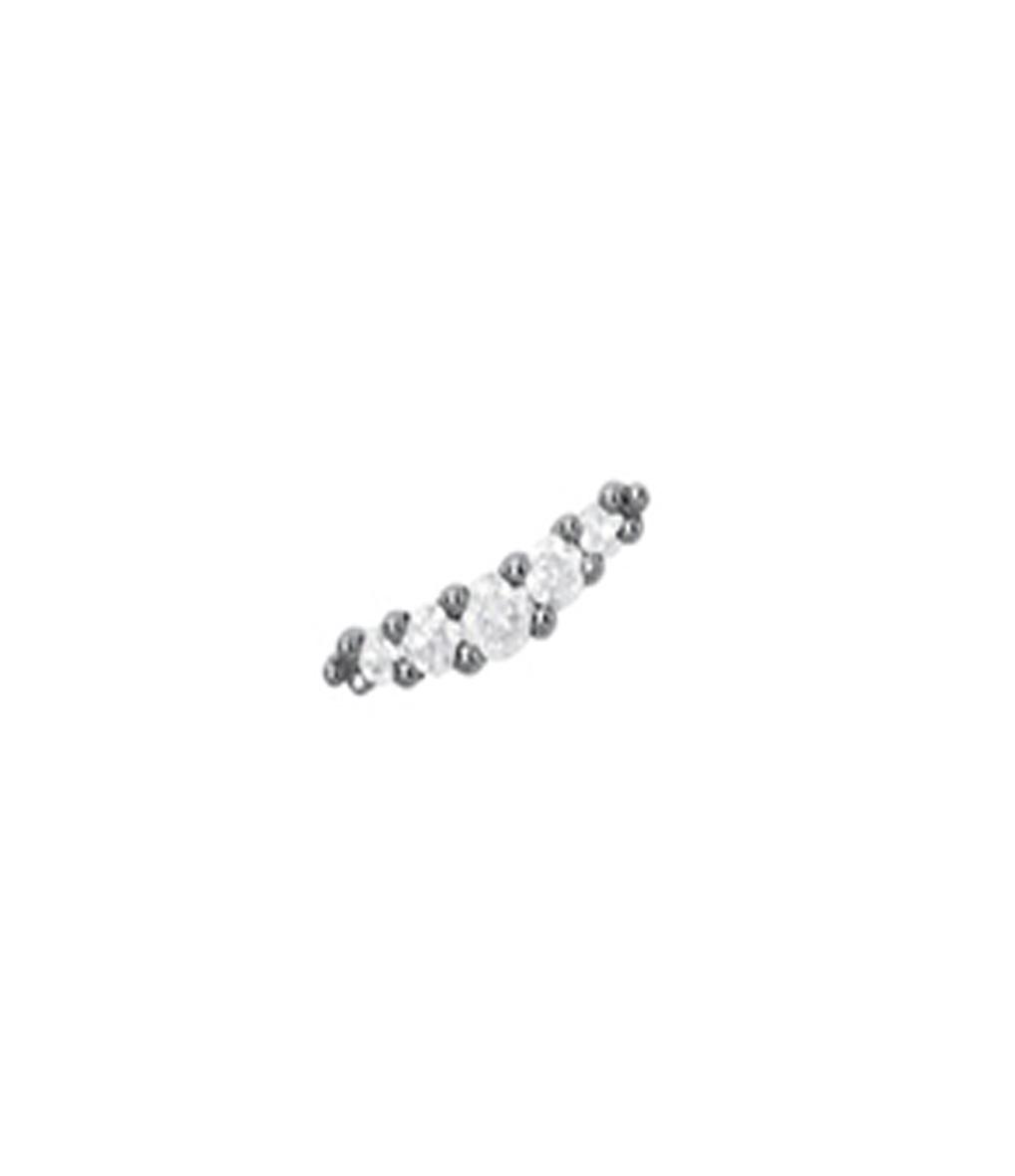 Boucle d'oreille Line Diamants (vendue à l'unité)