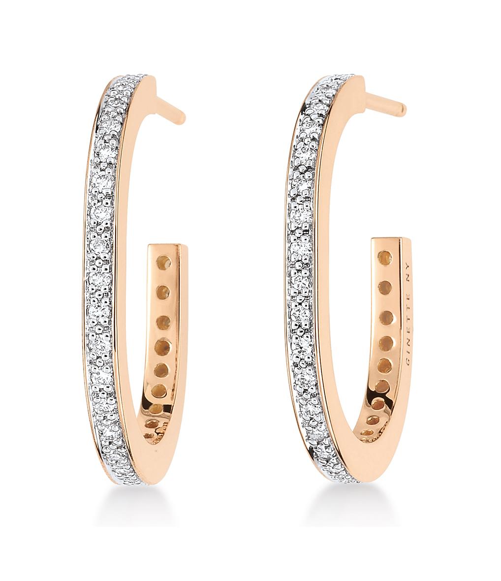 Boucles d'oreilles TV Diamants