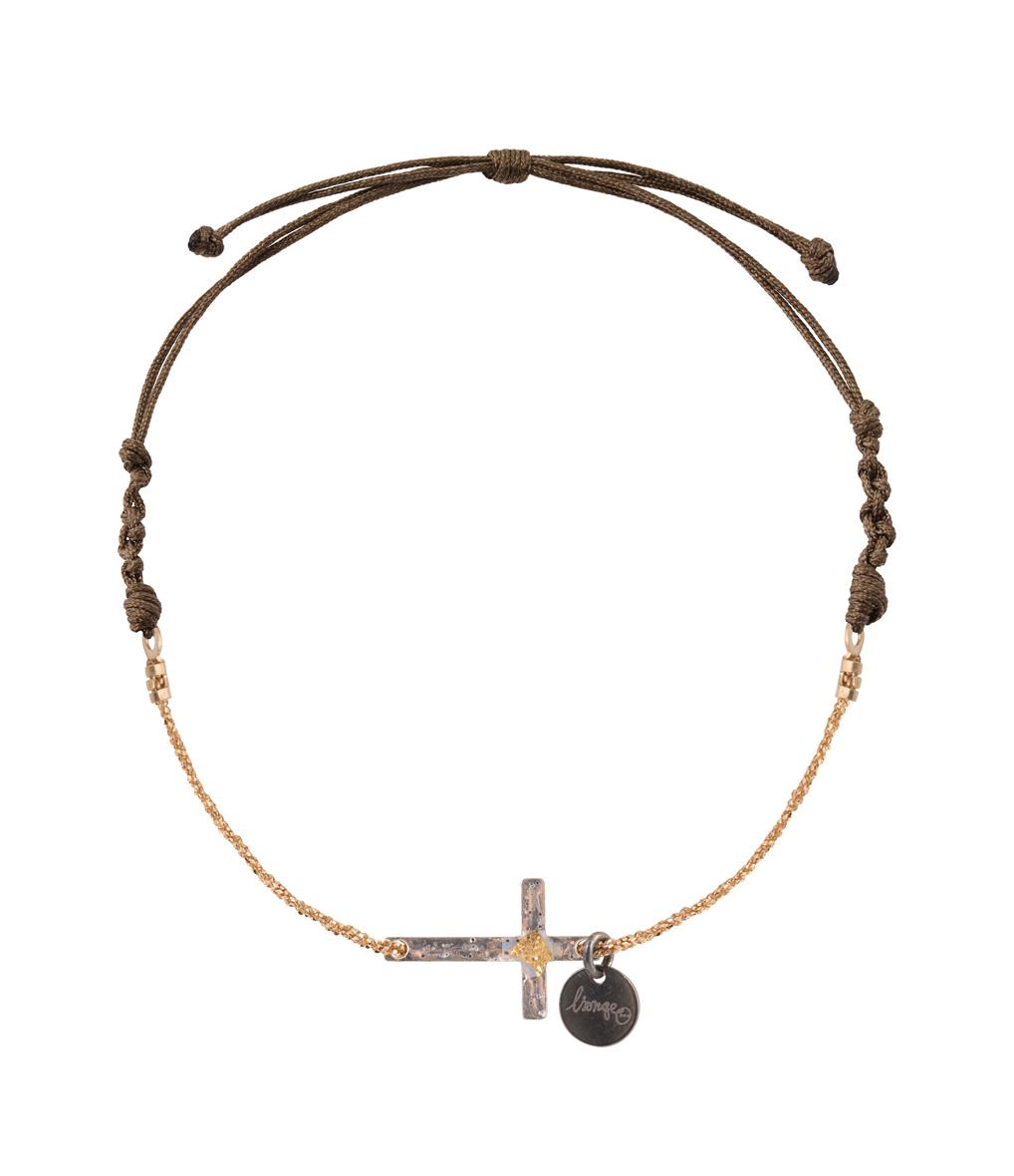 Bracelet Chaîne/Cordon Religion Croix
