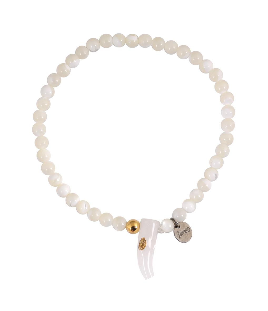Bracelet Corne Perles Riverstone