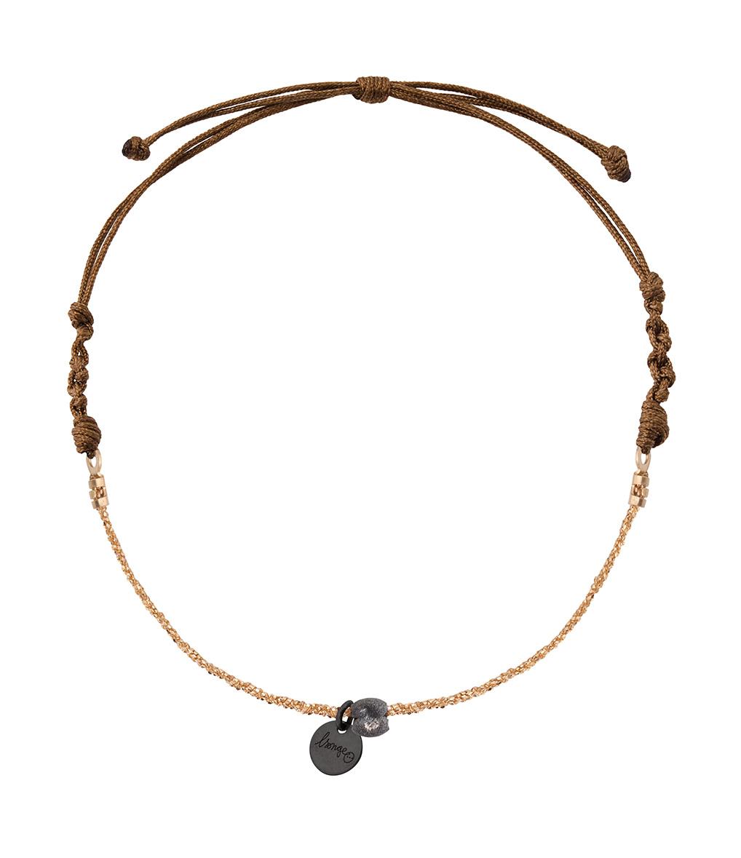 Bracelet Pépite Argent Noir