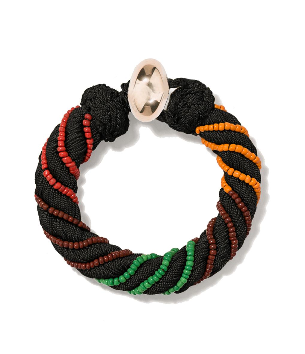 Bracelet Maya 10mm Noir