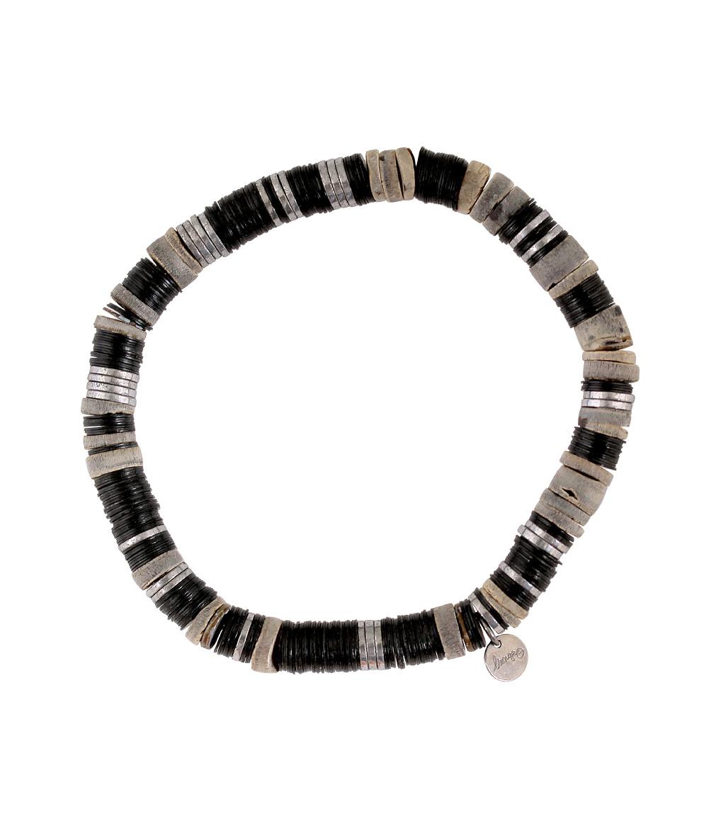 Bracelet Homme Zannot Noir Mélangé