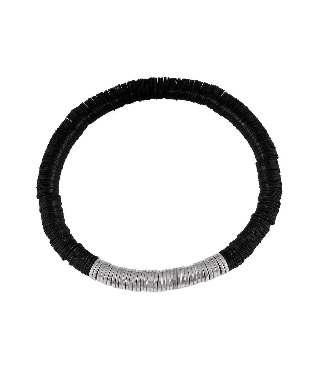 Bracelet Homme Zannot Noir Single