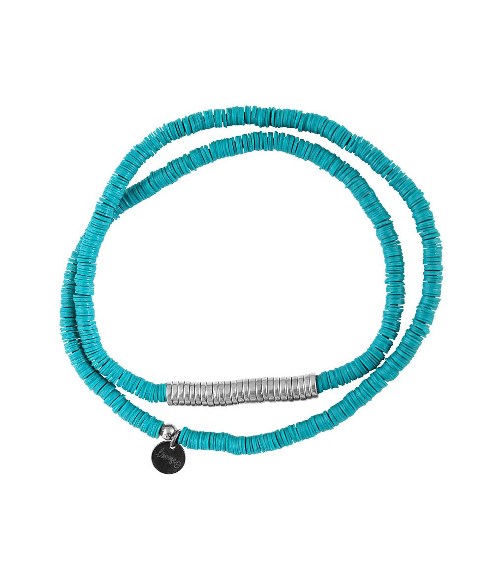 Bracelet Homme Zannot Long Turquoise/ Argenté