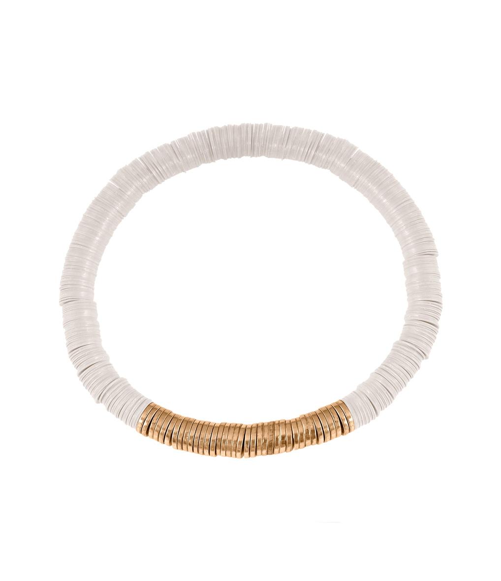 Bracelet Homme Zannot Blanc Single
