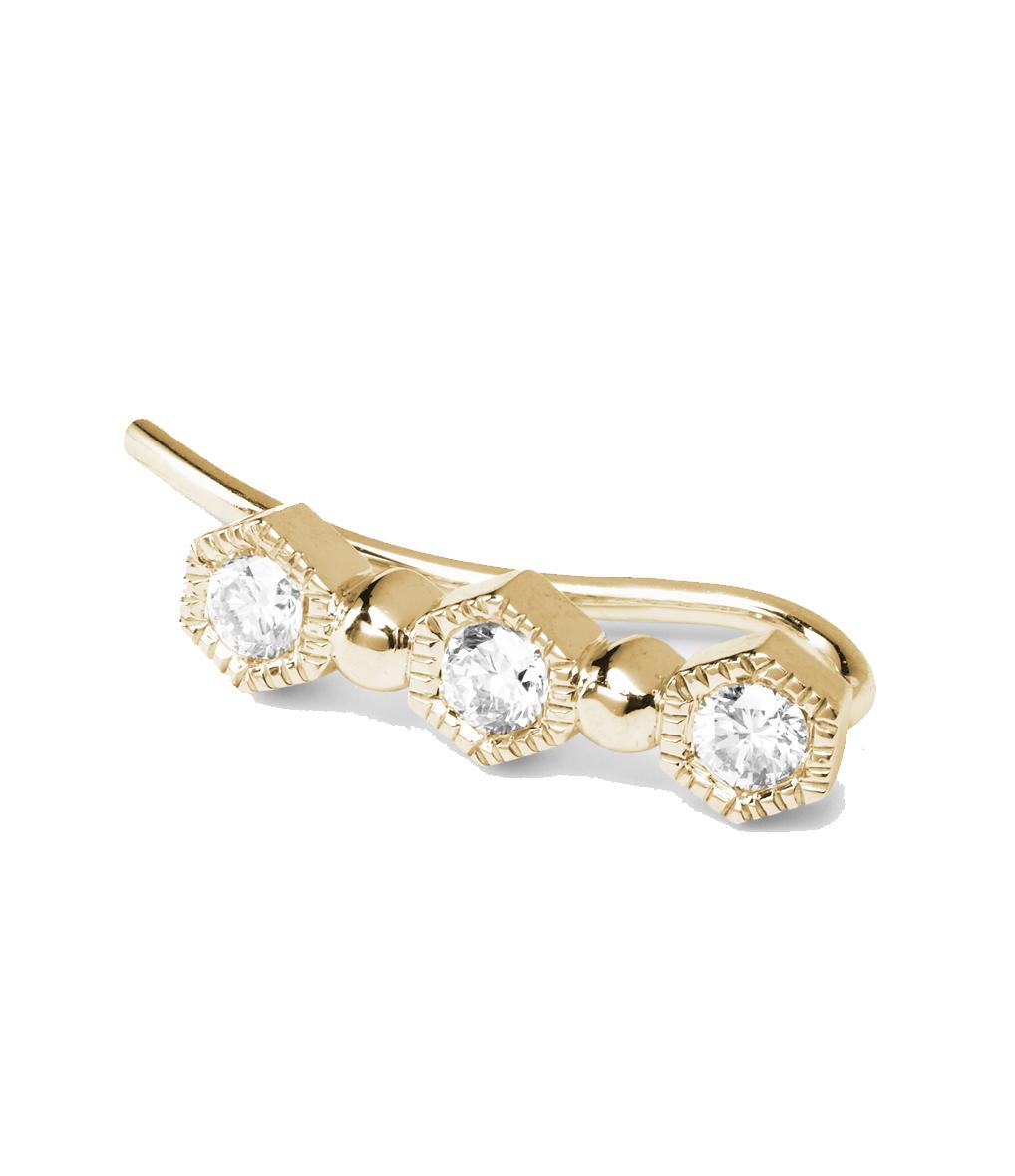 Boucle Charmante Diamants (vendue à l'unité)