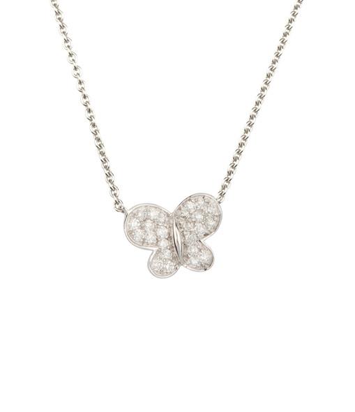 Collier Papillon Diamants GM
