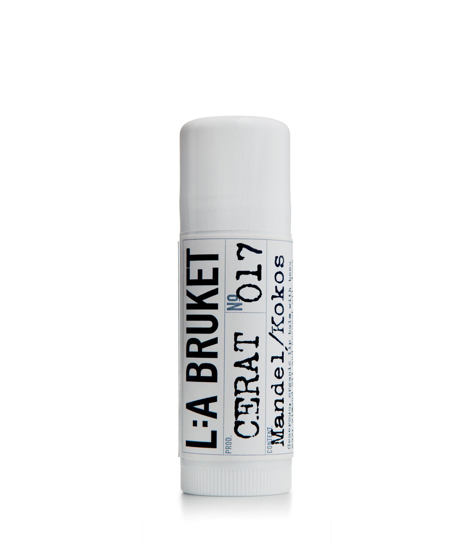 L:A BRUKET - Baume Lèvres Amande Coco 17ml N°017