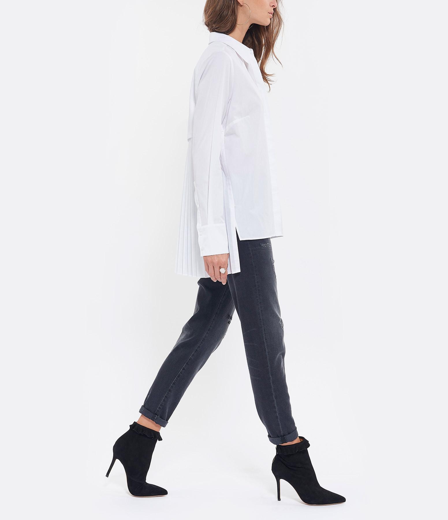 HANA SAN - Chemise Maguro Coton Blanc
