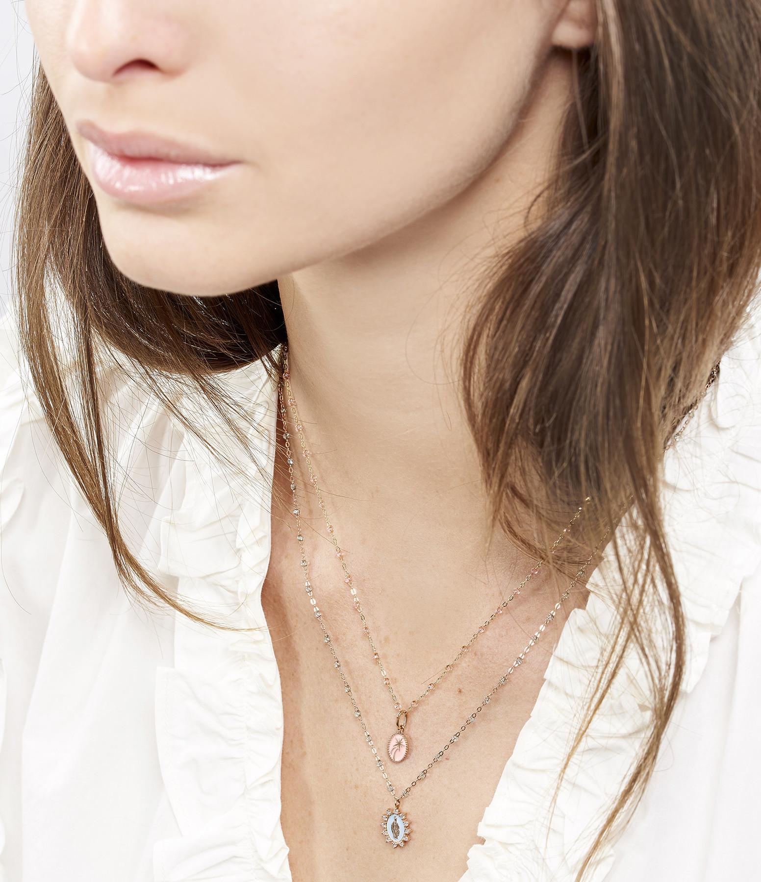 GIGI CLOZEAU - Pendentif Petite Madone Suprême Or Diamants