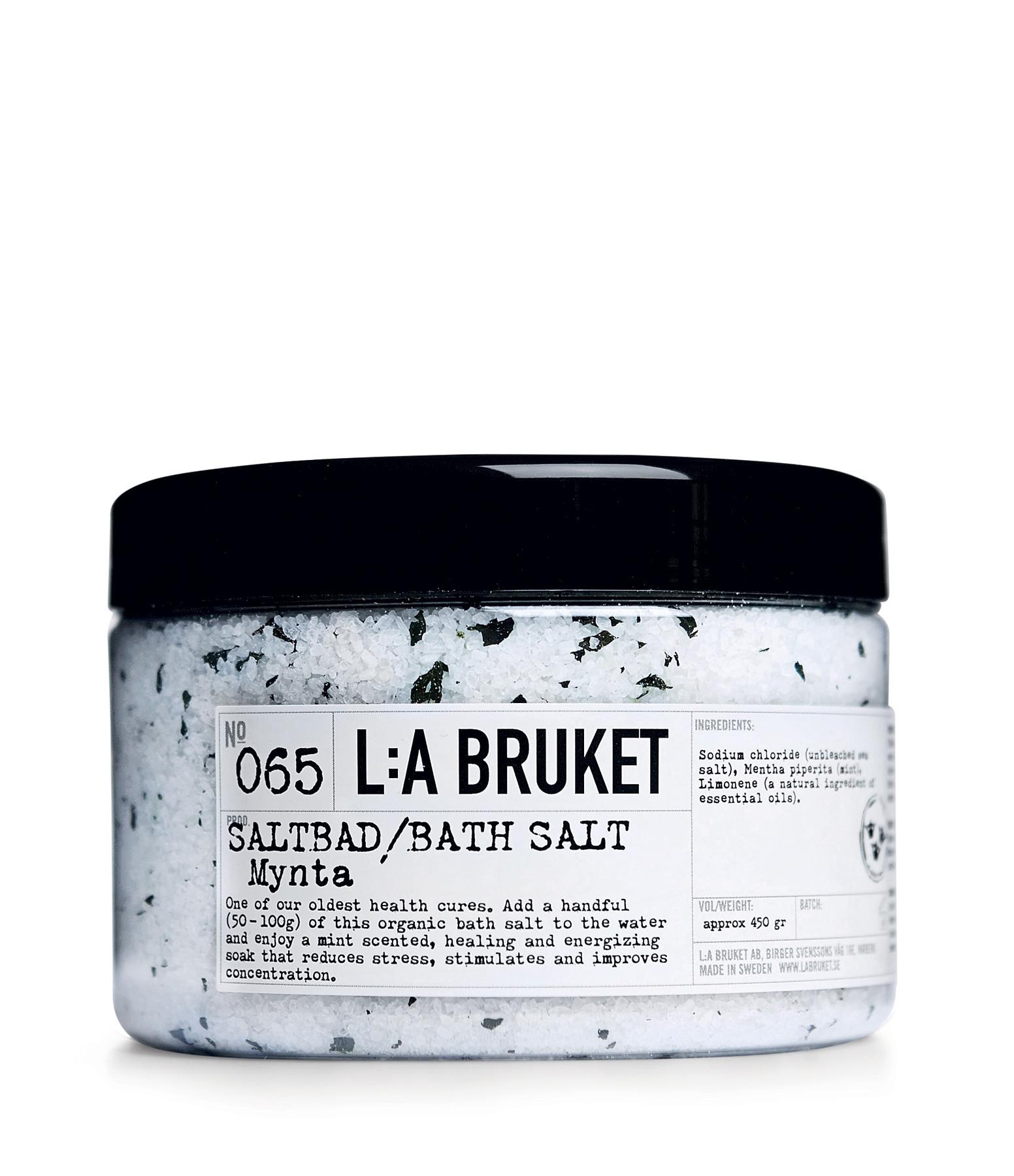 L:A BRUKET - Sels de Bain Menthe 450g N°065