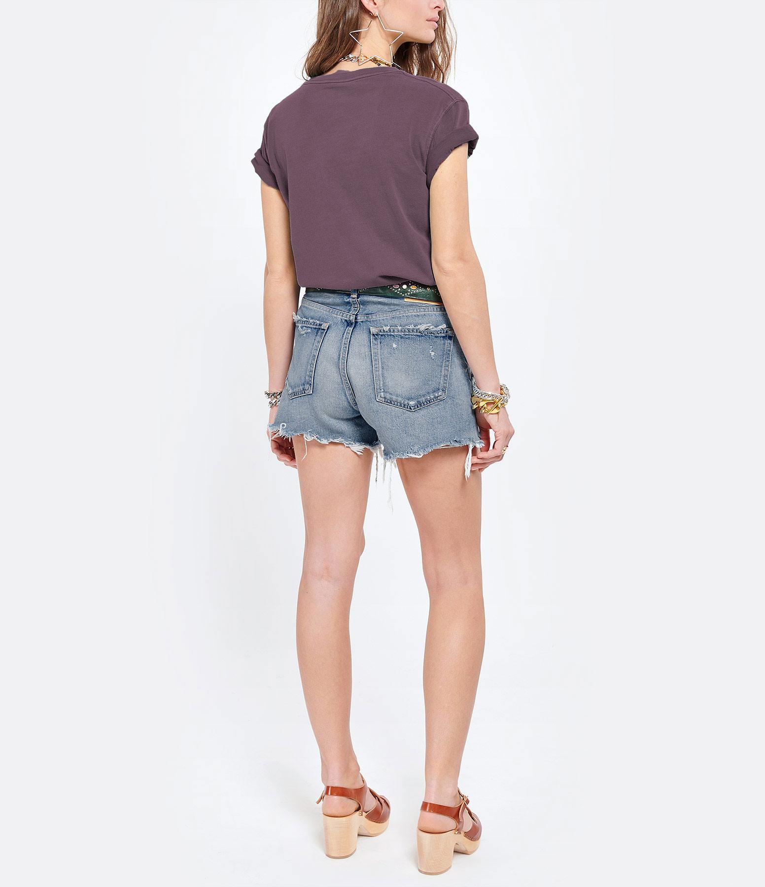 NEWTONE - Tee-shirt Trucker Joy Coton Cerise