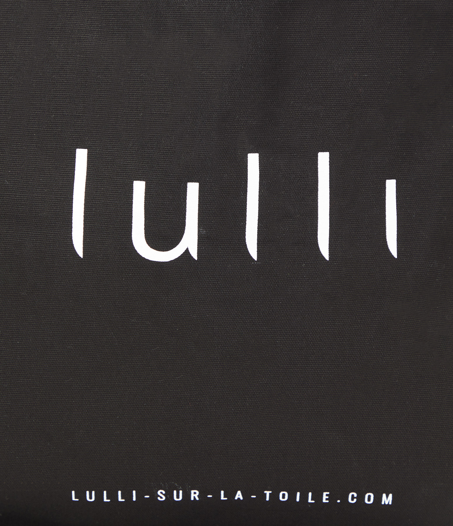 LULLI - Tote bag Lulli Noir Blanc