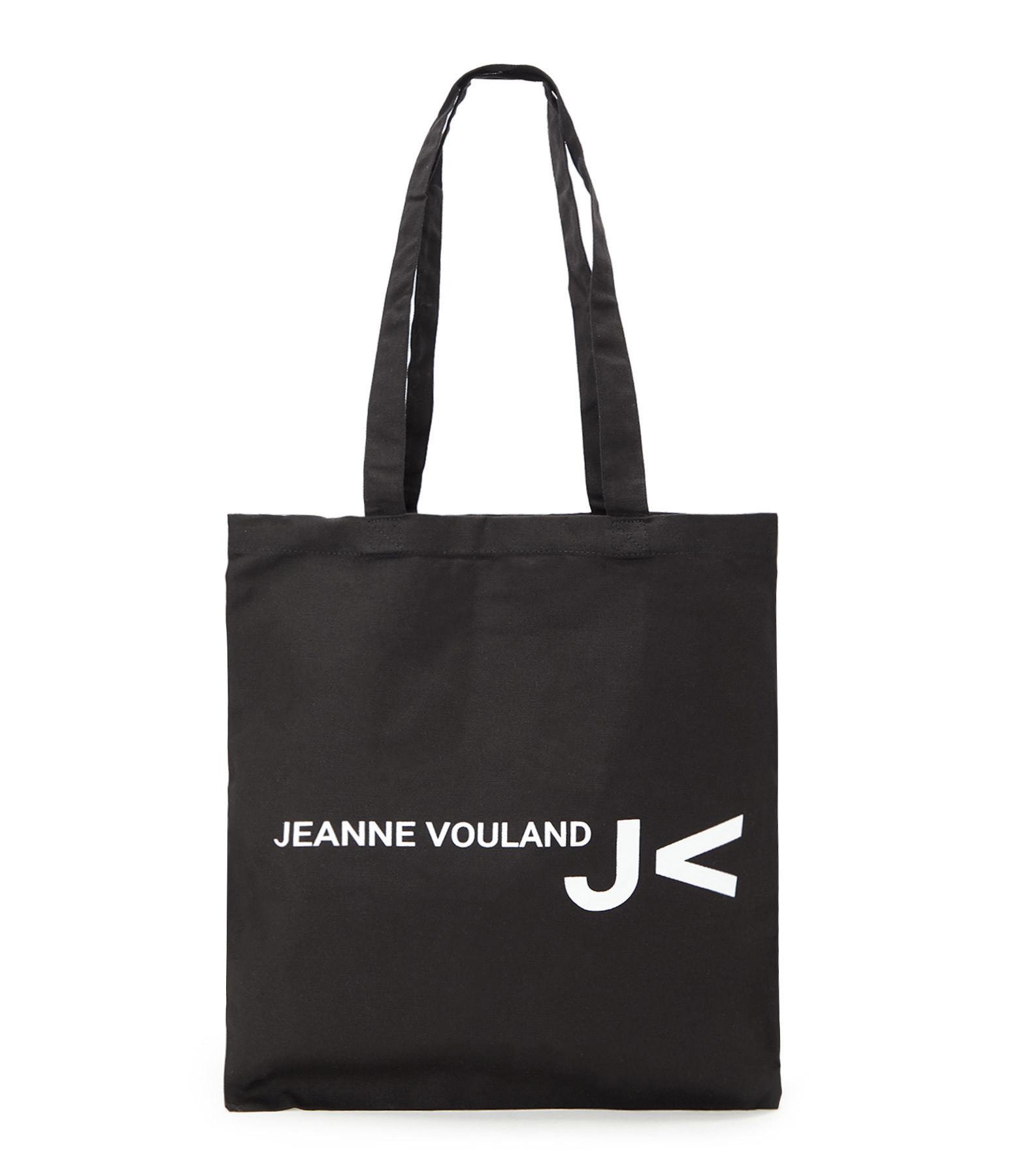 JEANNE VOULAND - Tote bag Jeanne Vouland Noir