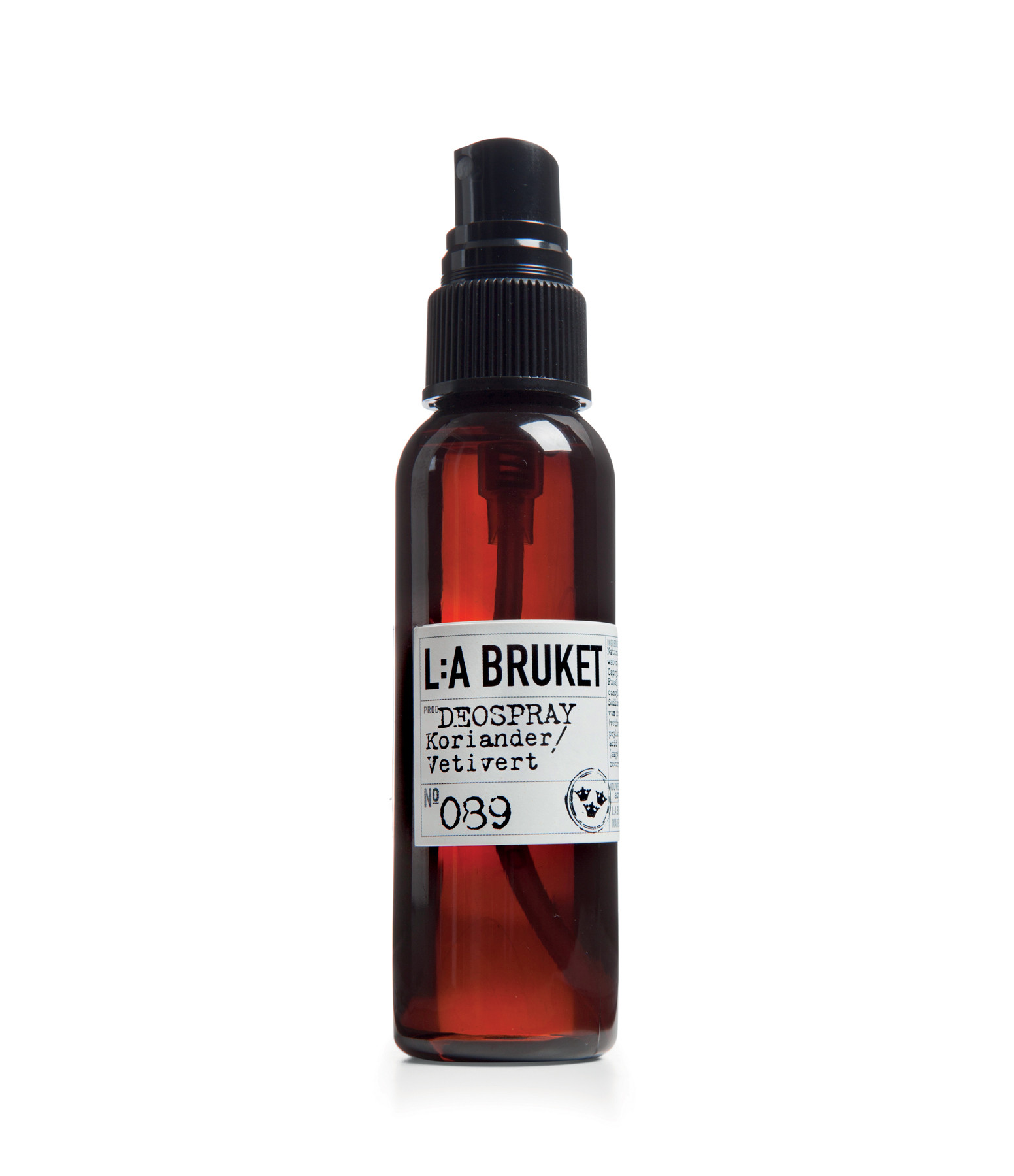 L:A BRUKET - N°89 Déodorant Coriandre Vetiver 55ml