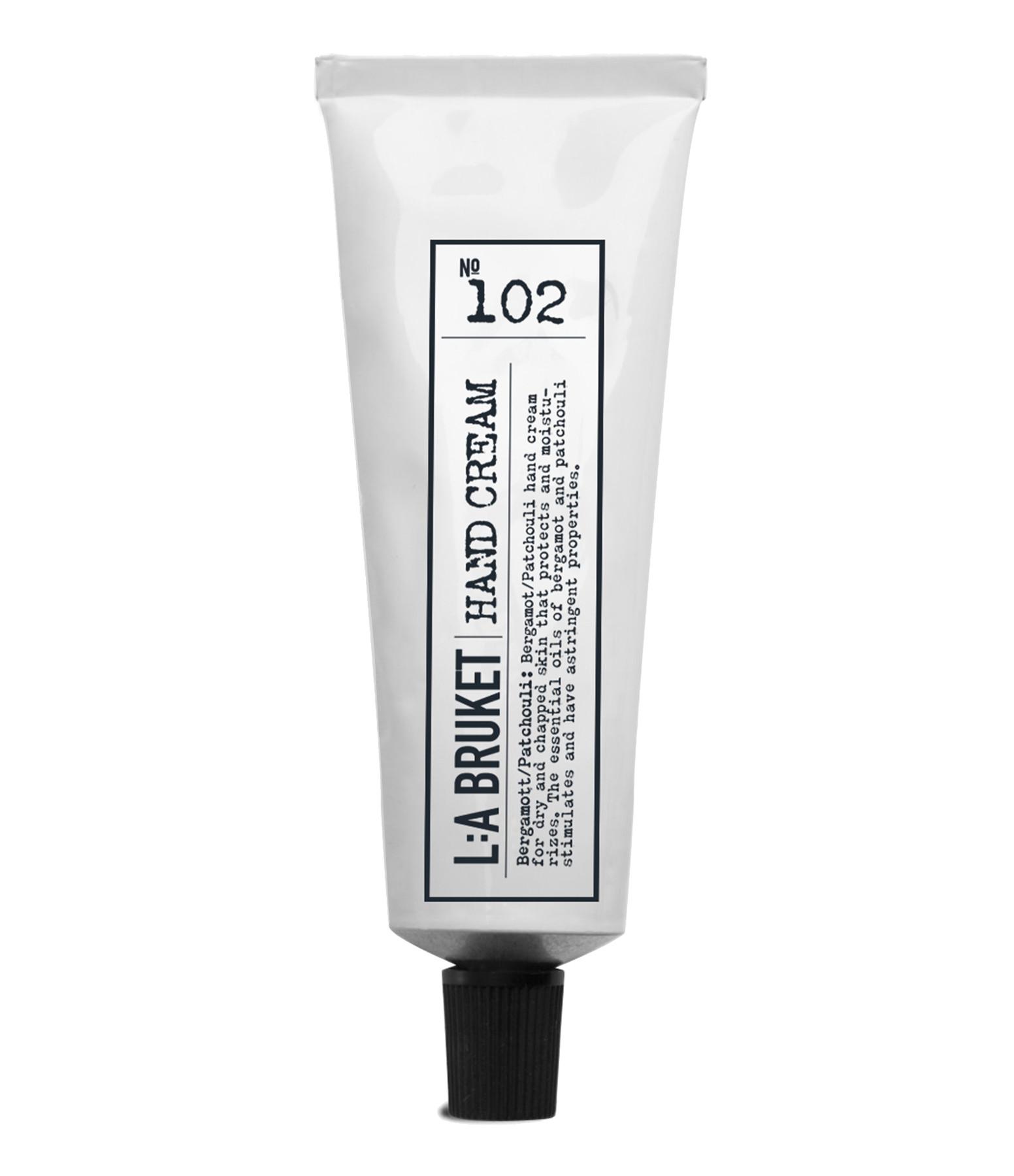 L:A BRUKET - Crème Mains Bergamote Patchouli 30ml N°102