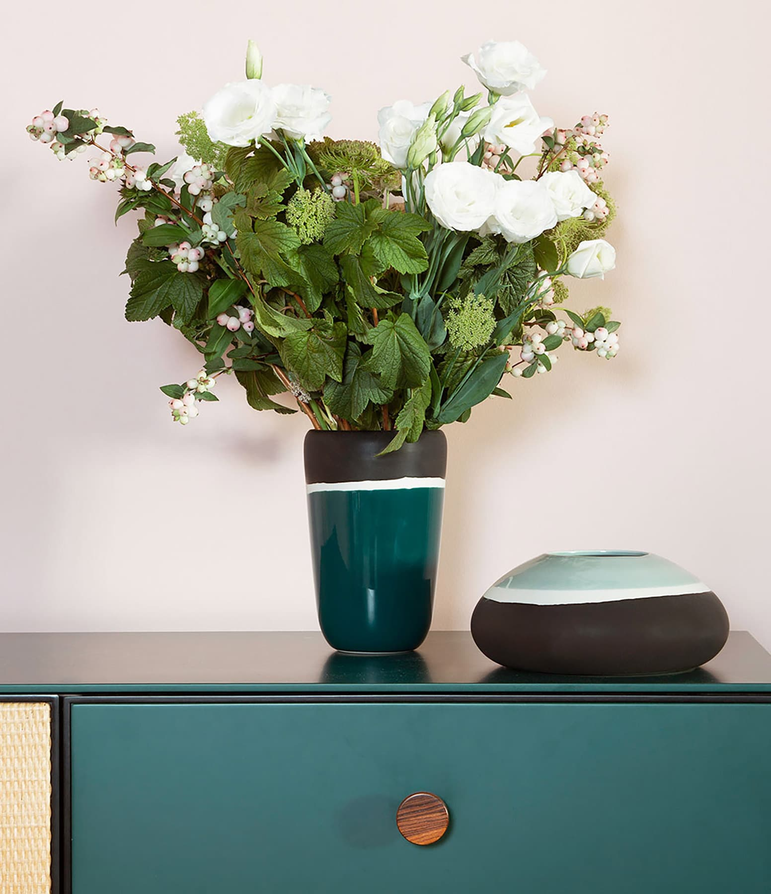 MAISON SARAH LAVOINE - Vase Sicilia Pousse de Tilleul 10x22cm