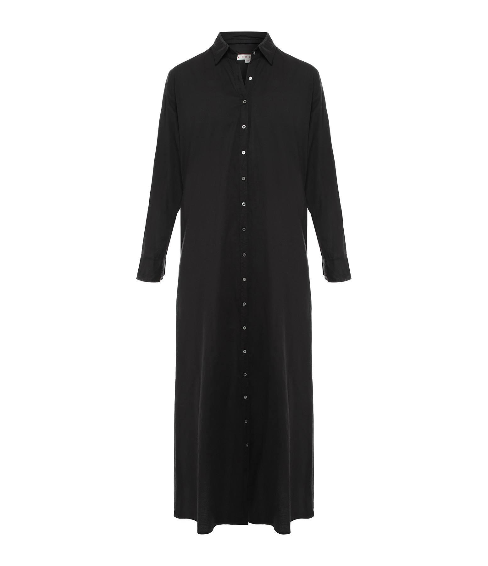 XIRENA - Robe Boden Coton Noir
