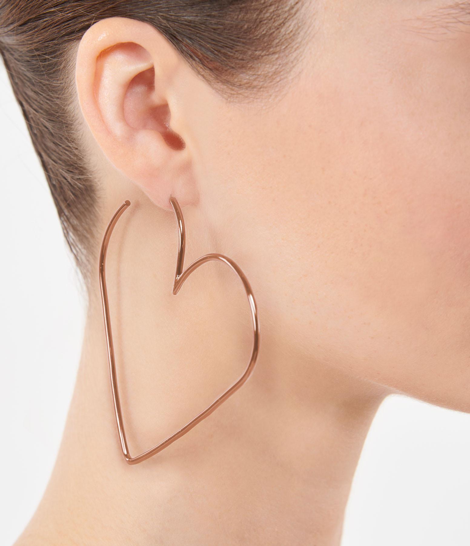 ISABEL MARANT - Boucles d'oreilles In Love Laiton Bois de Rose
