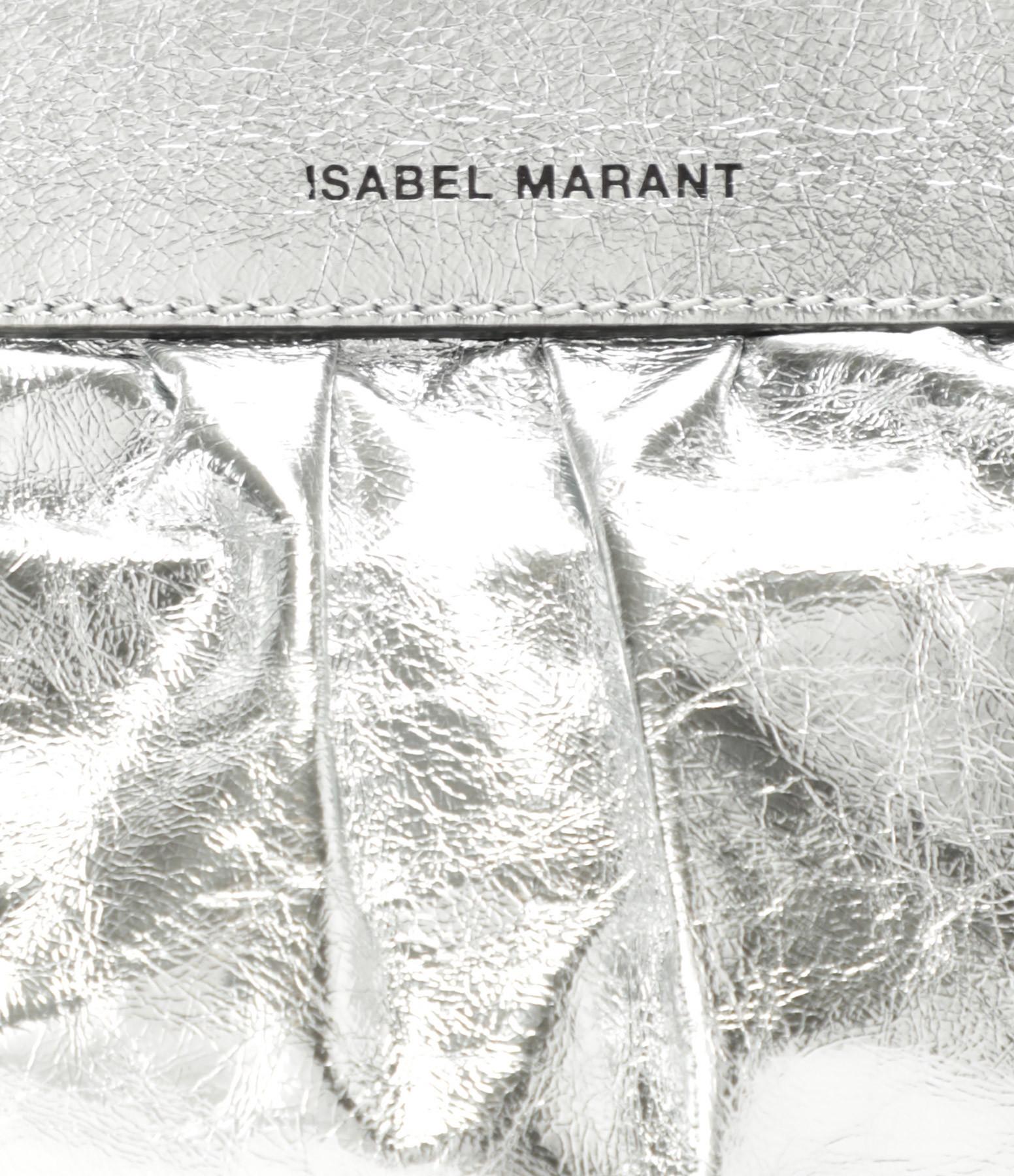 ISABEL MARANT - Pochette Luzes Argenté