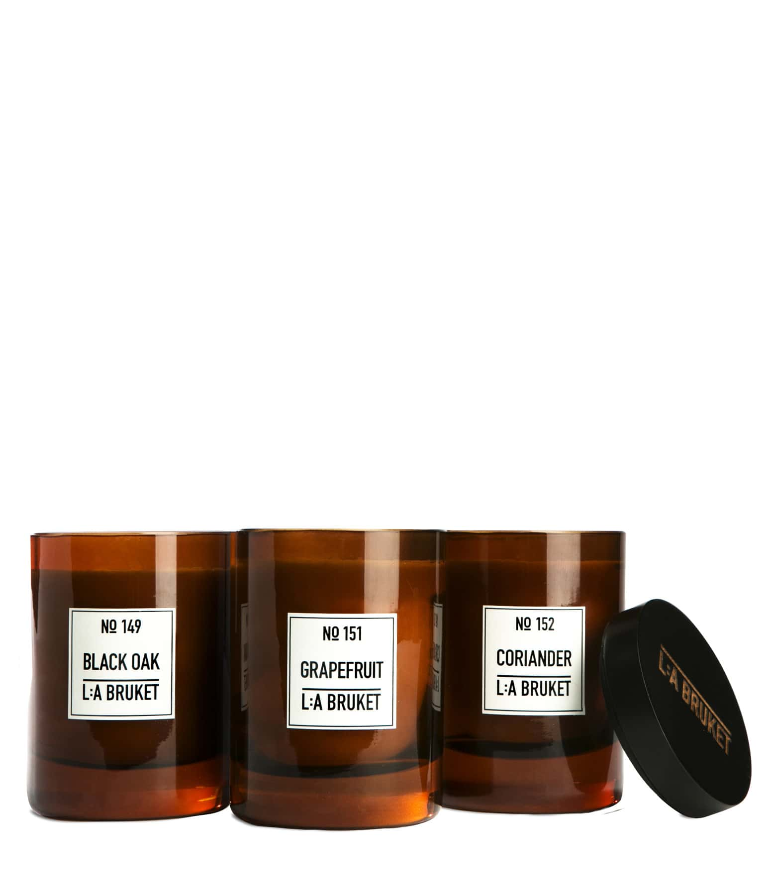 L:A BRUKET - Bougie Parfumée Coriandre 260g N°152