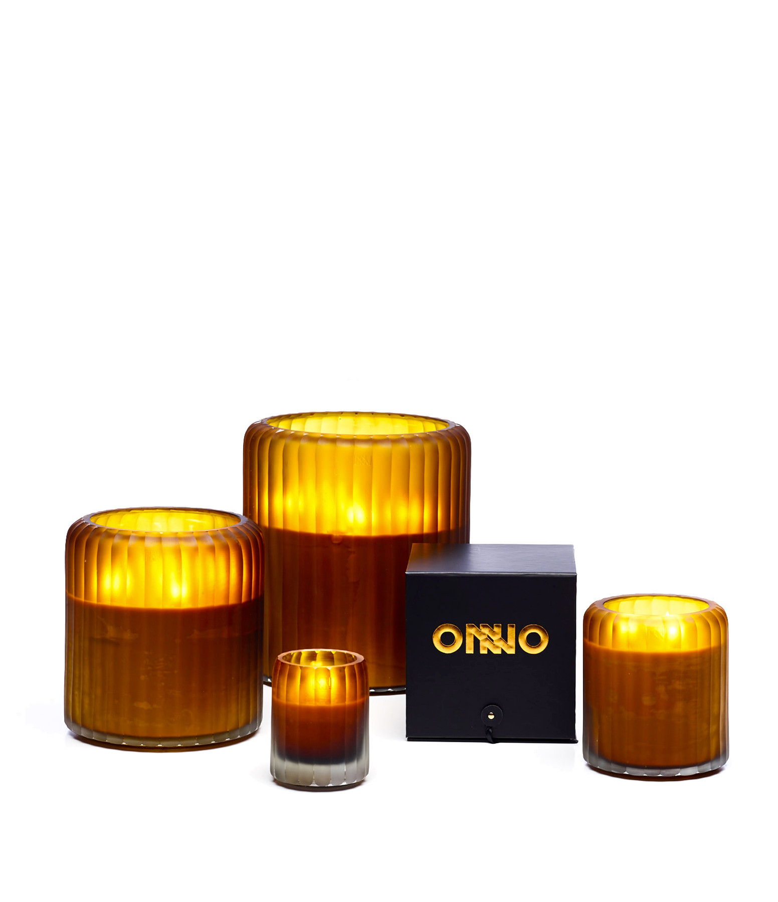 ONNO - Bougie Ocher Eternity 60 Serengeti