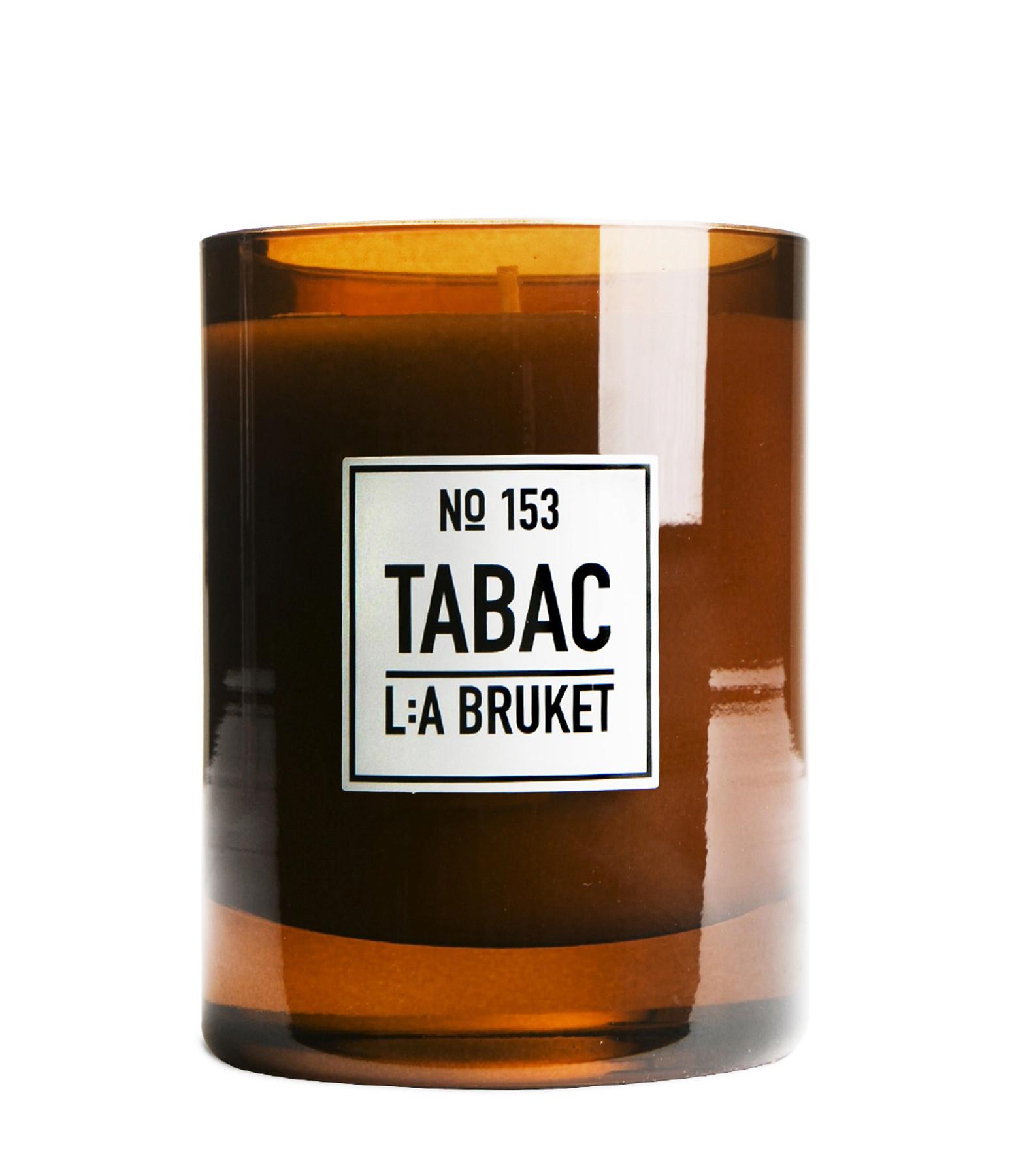 L:A BRUKET - Bougie Parfumée Tabac 260g N°153