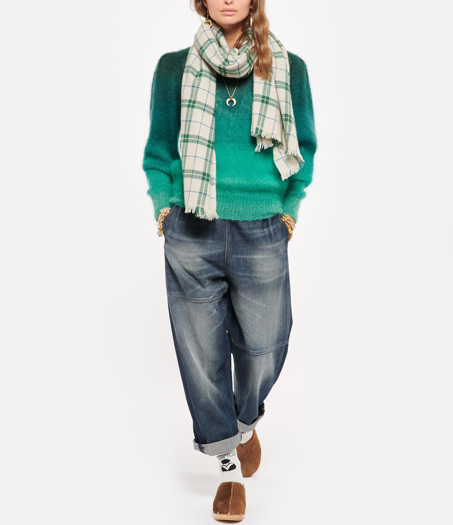 ISABEL MARANT - Chaussettes Silou Coton Vert