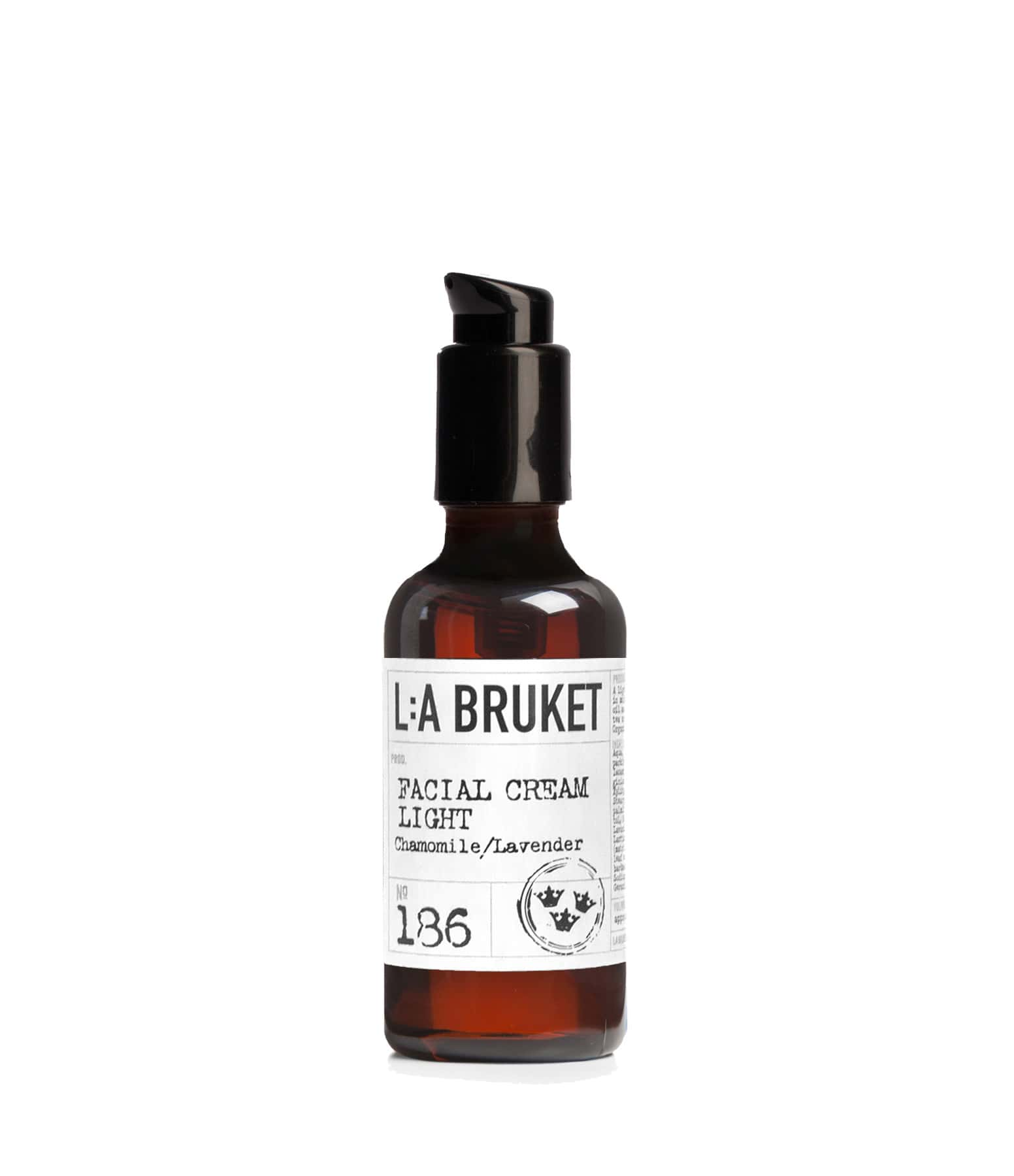 L:A BRUKET - Crème Visage Camomille Lavande 50ml N°186